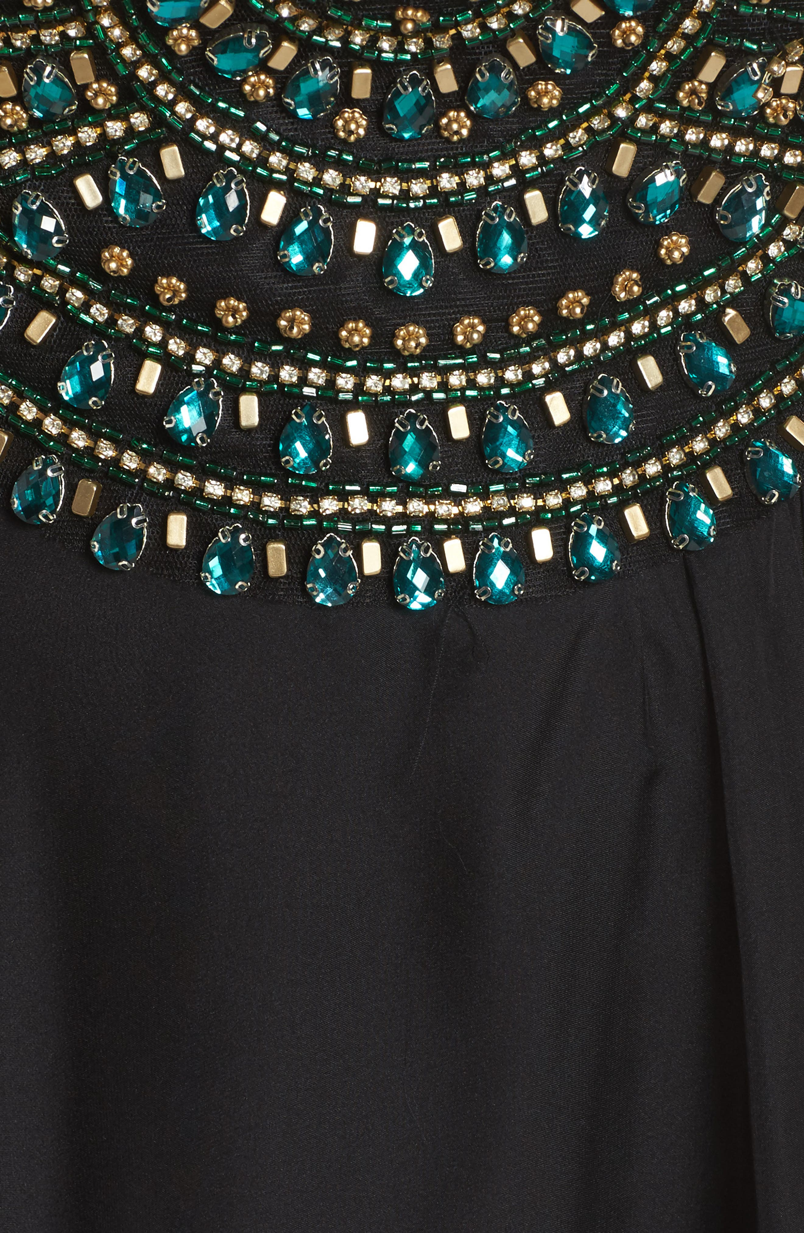 Embellished Gown,                             Alternate thumbnail 5, color,                             001