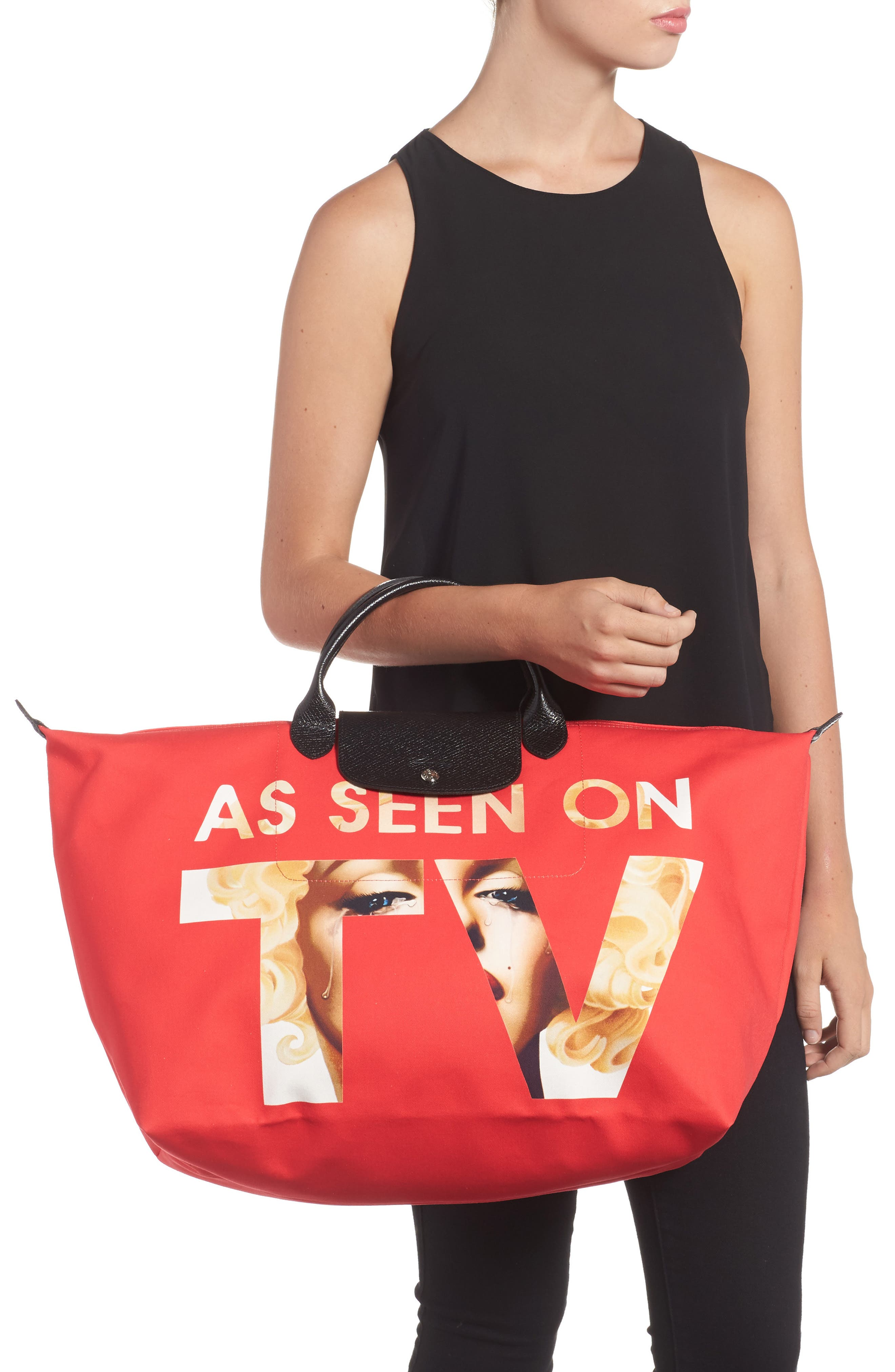 x Jeremy Scott As Seen on TV Tote,                             Alternate thumbnail 2, color,
