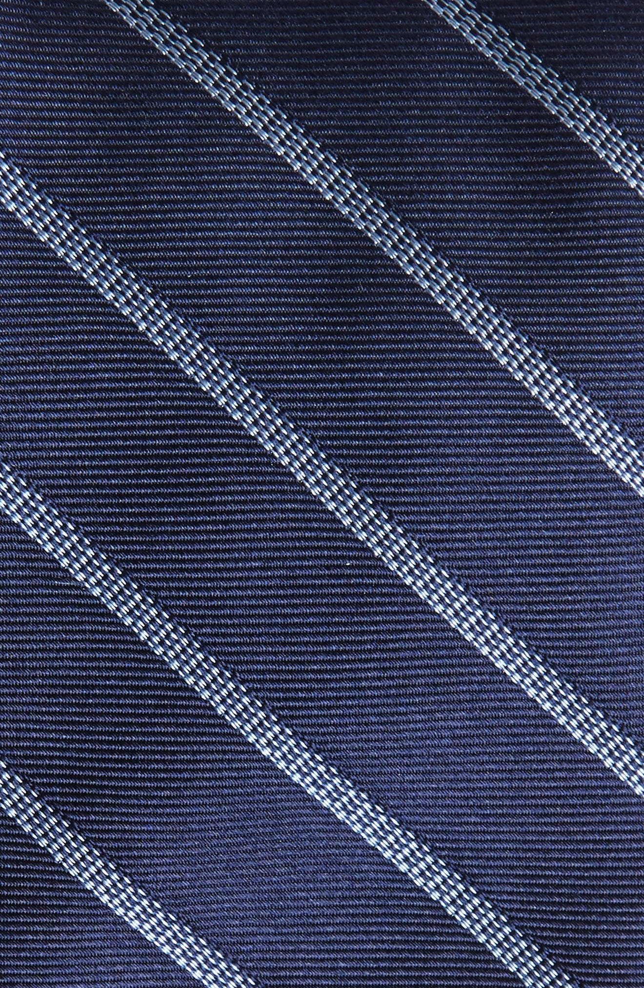 Pixel Stripe Silk Tie,                             Alternate thumbnail 6, color,