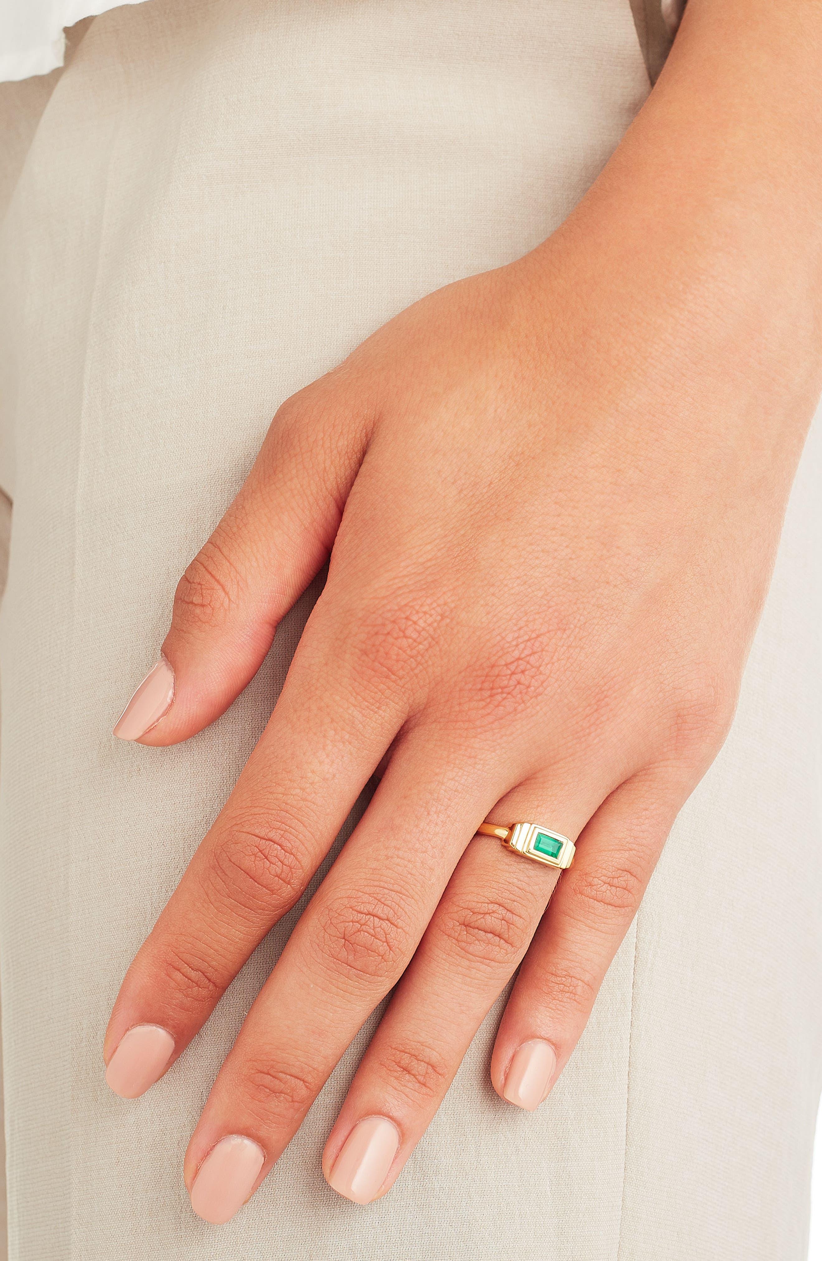 Baja Deco Semiprecious Stone Ring,                             Alternate thumbnail 6, color,
