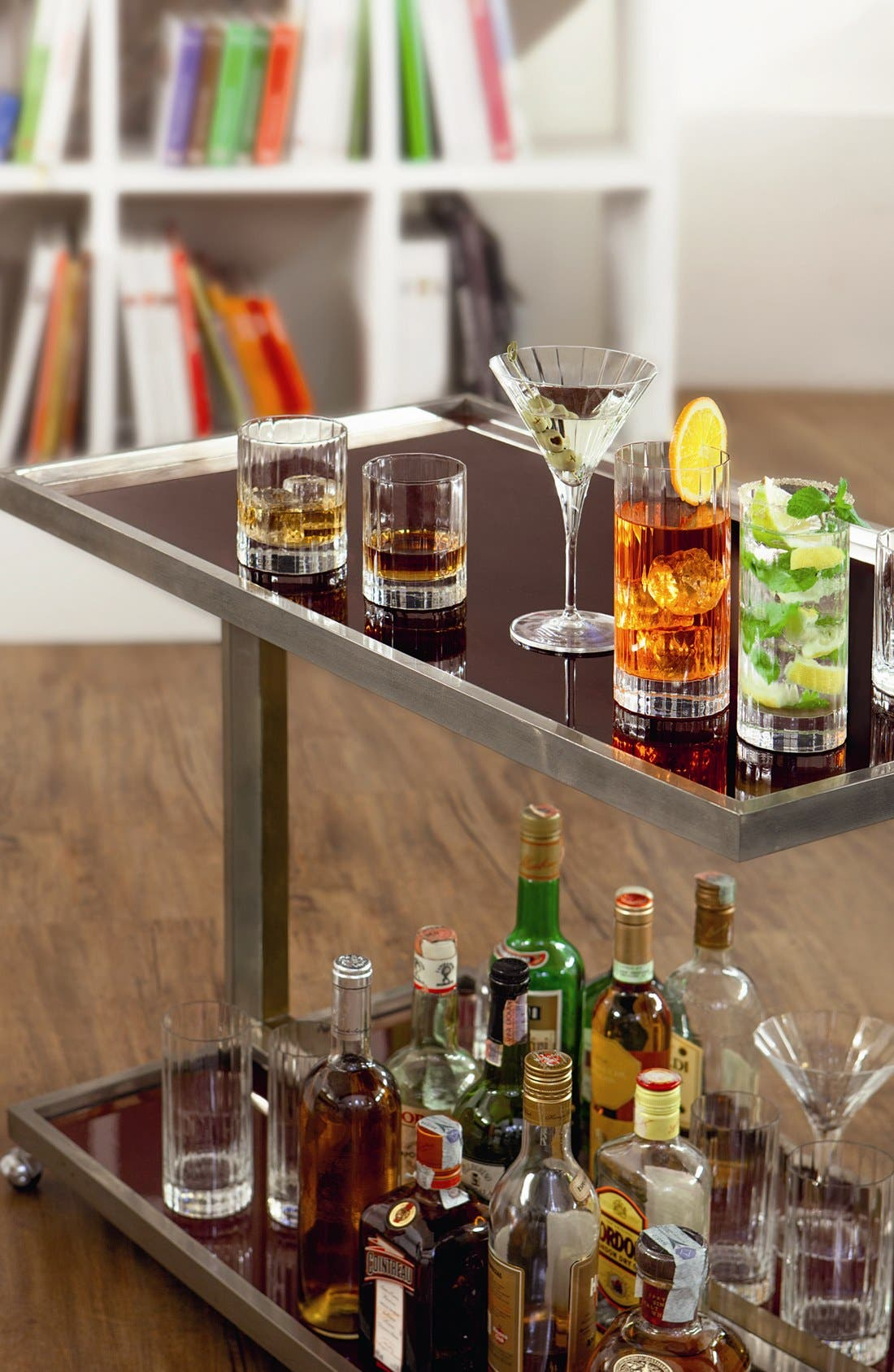 'Bach' Double Old Fashioned Glasses,                             Alternate thumbnail 2, color,                             CLEAR