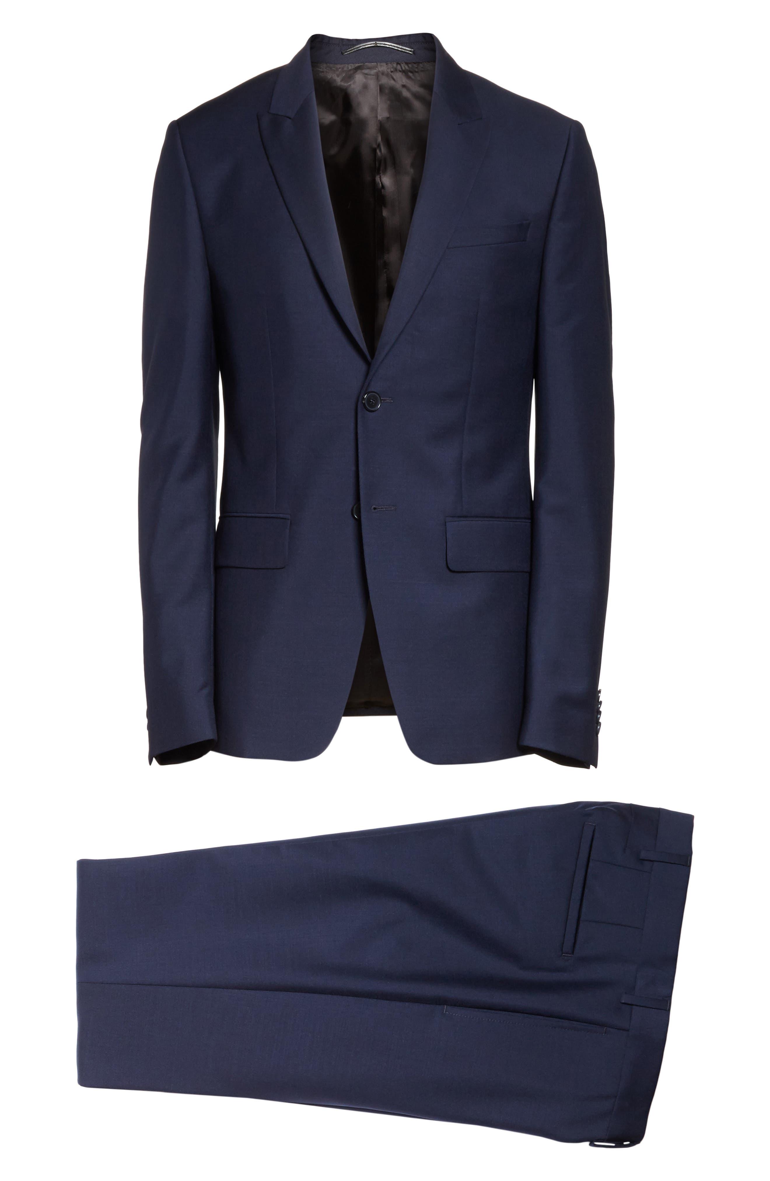 Wool & Mohair Suit,                             Alternate thumbnail 8, color,                             403