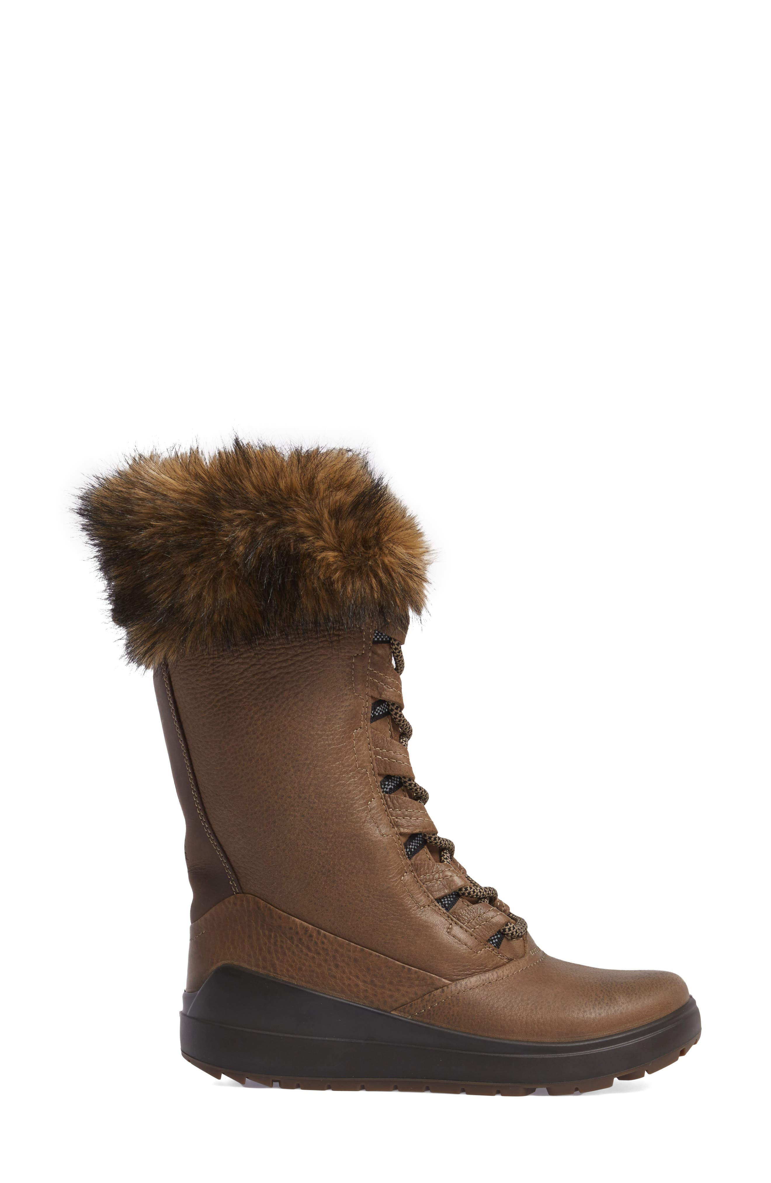 Noyce Siberia Hydromax Water Resistant Winter Boot with Faux Fur Trim,                             Alternate thumbnail 3, color,                             212