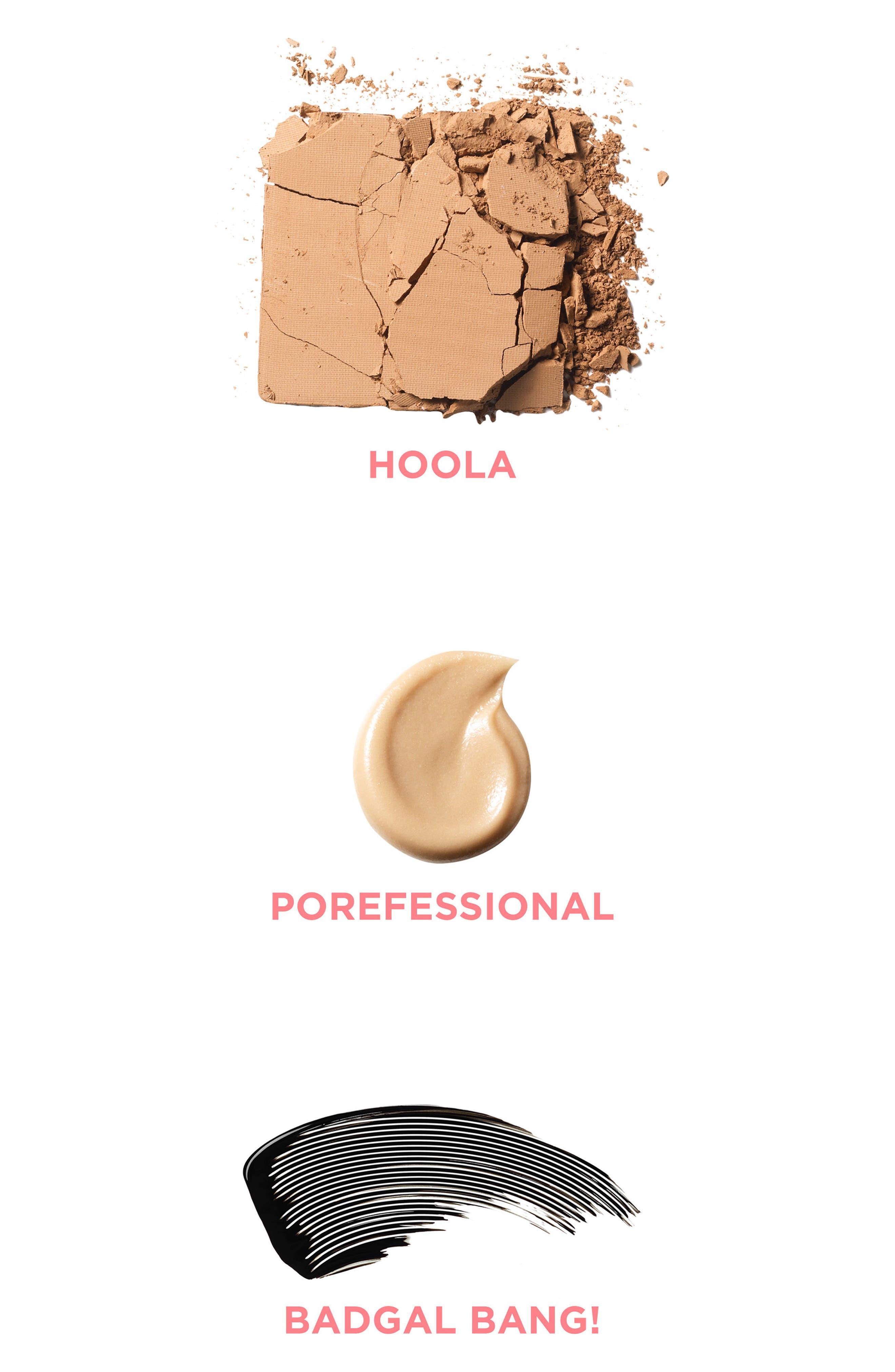 Benefit Primer, Bronzer & Mascara Set,                             Alternate thumbnail 5, color,                             NO COLOR
