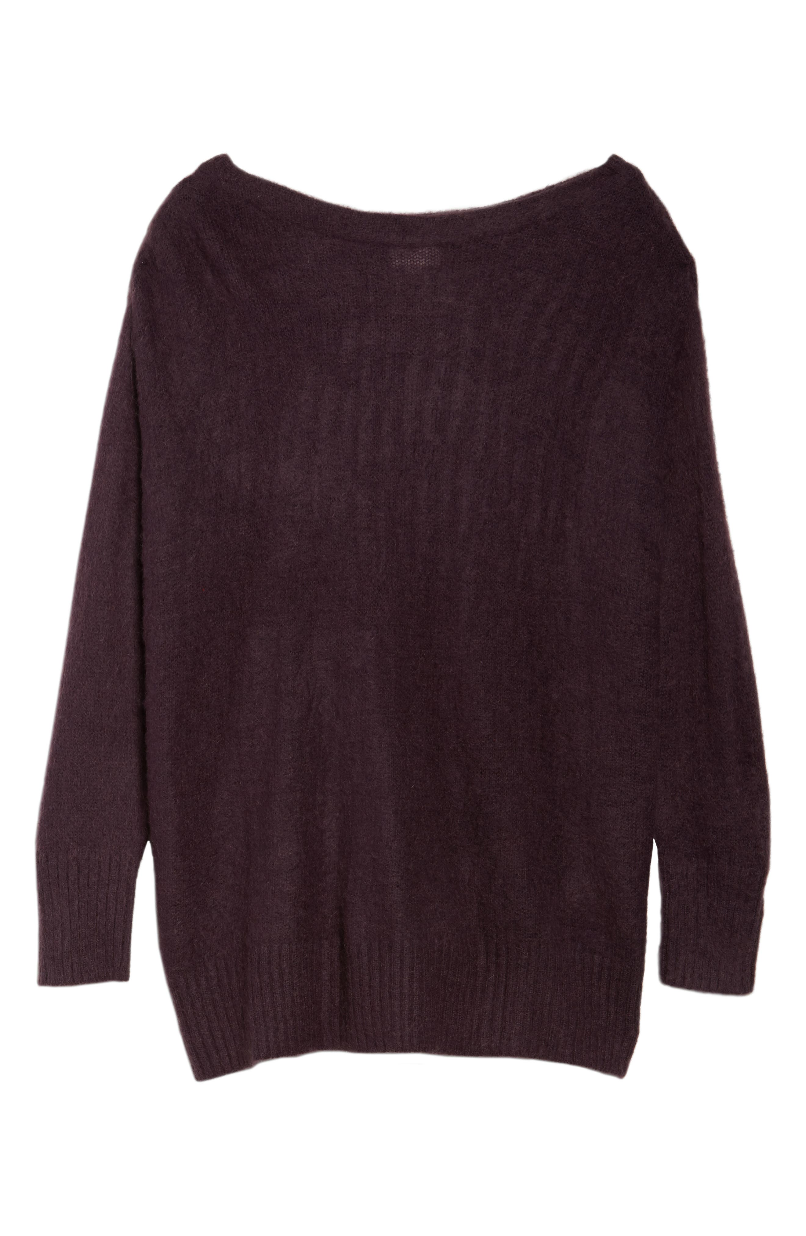 Long Sleeve Brushed Sweater,                             Alternate thumbnail 6, color,                             501