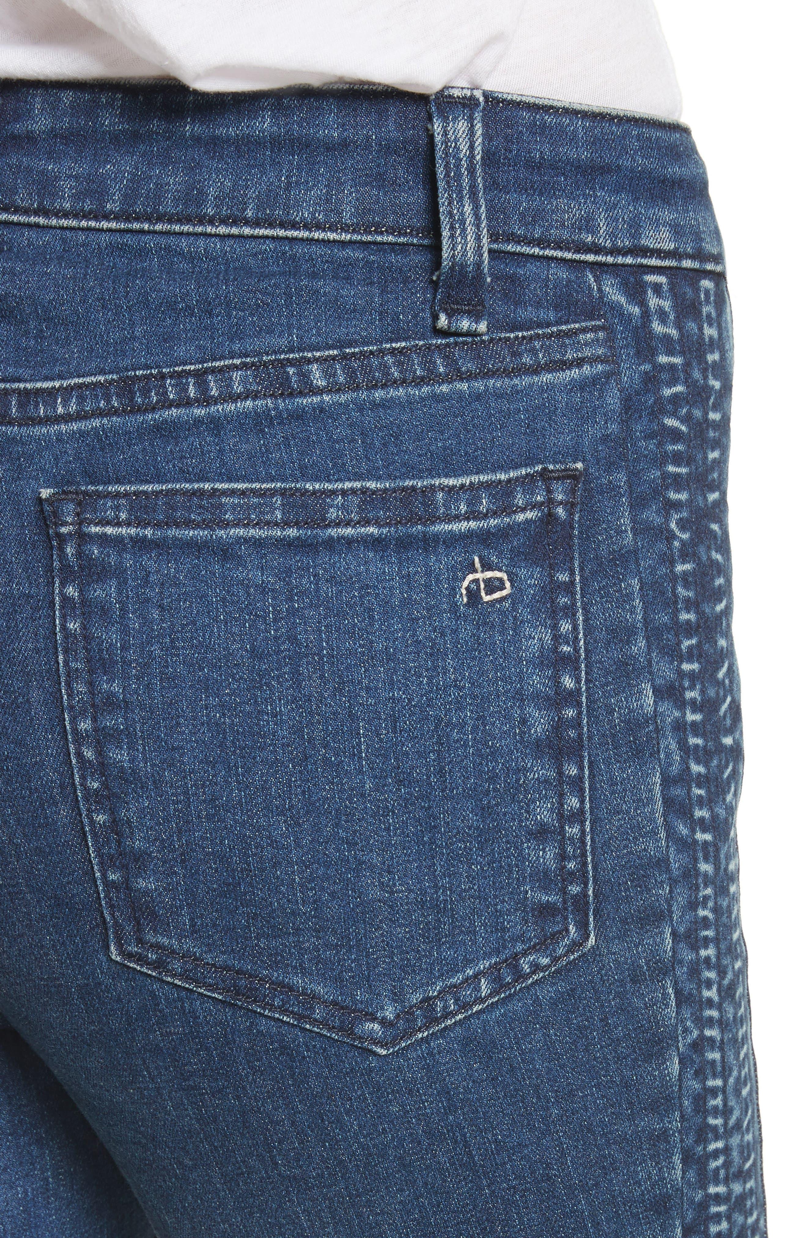 Ranata Tuxedo Cigarette Jeans,                             Alternate thumbnail 4, color,