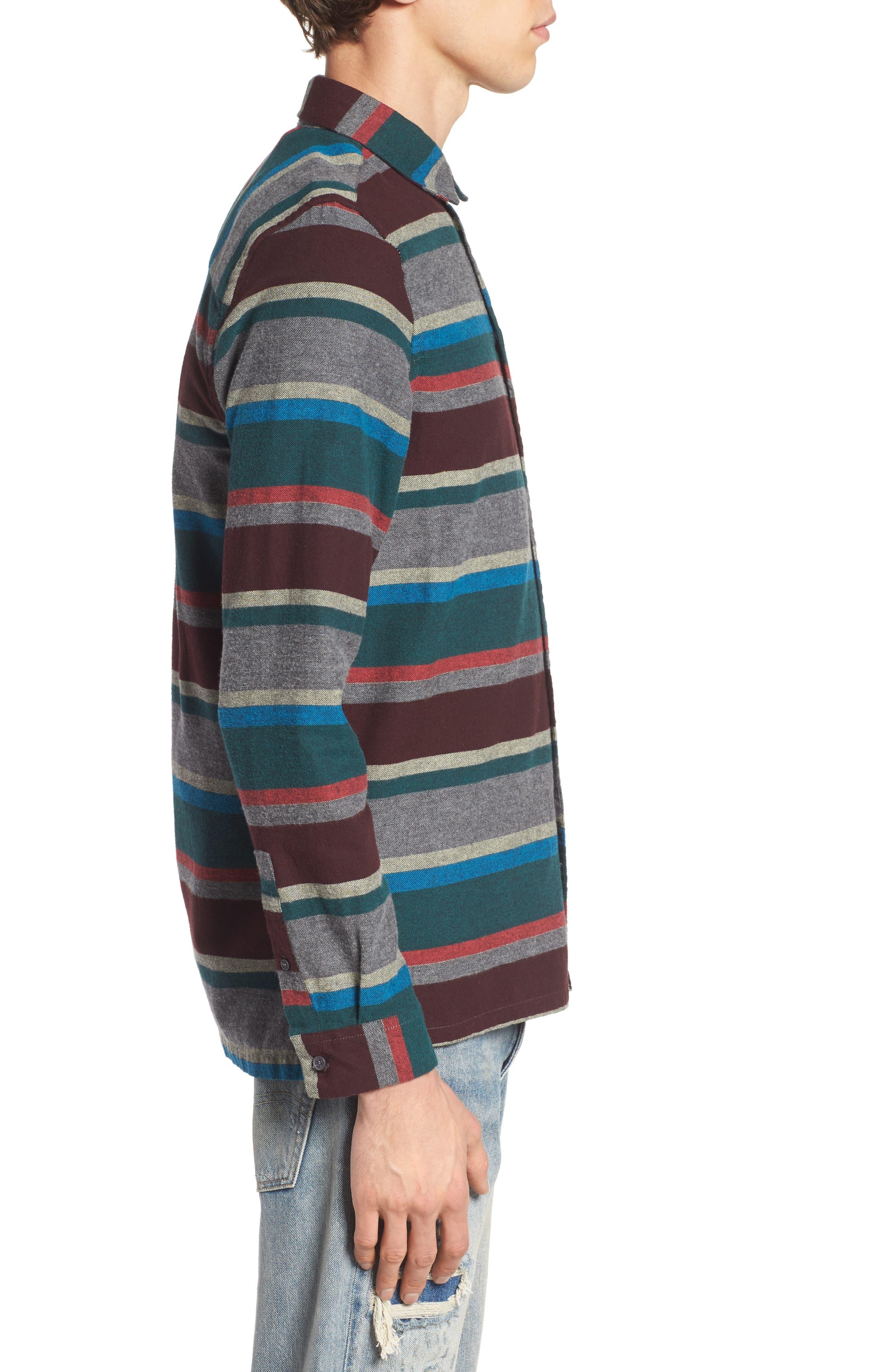 Arcot Woven Shirt,                             Alternate thumbnail 3, color,                             020
