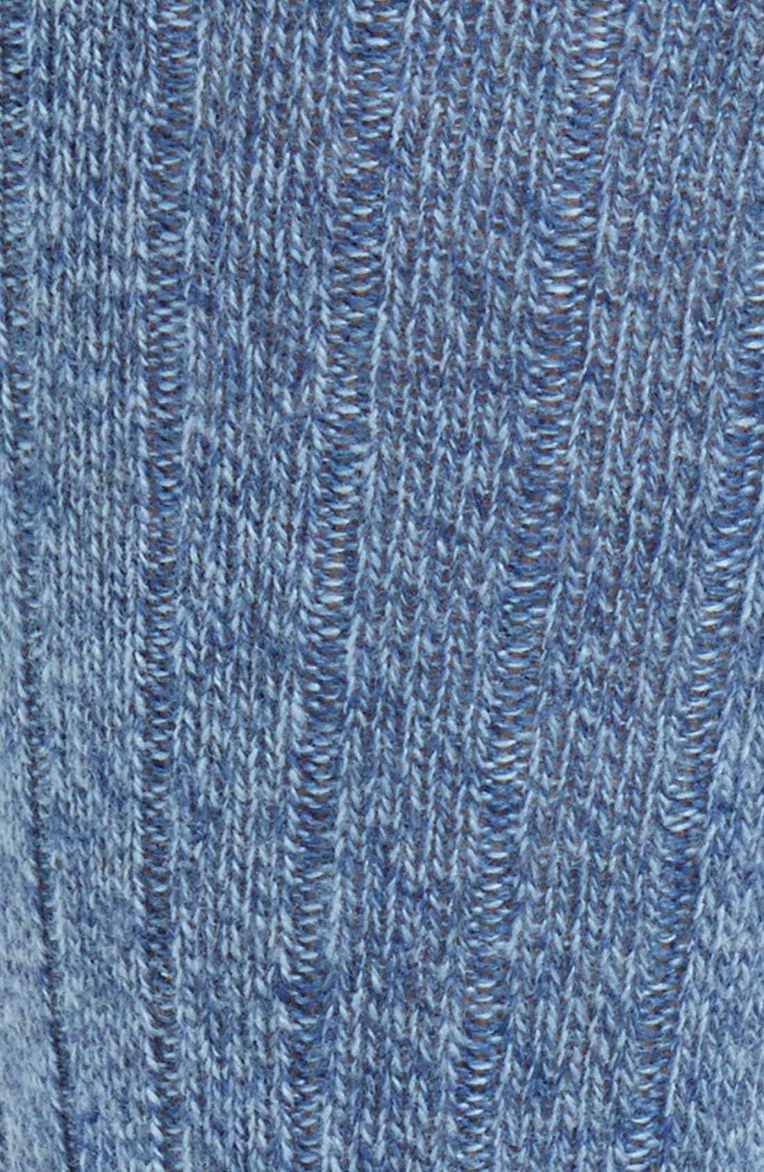 'Waddington' Cashmere Blend Mid Calf Socks,                             Alternate thumbnail 24, color,