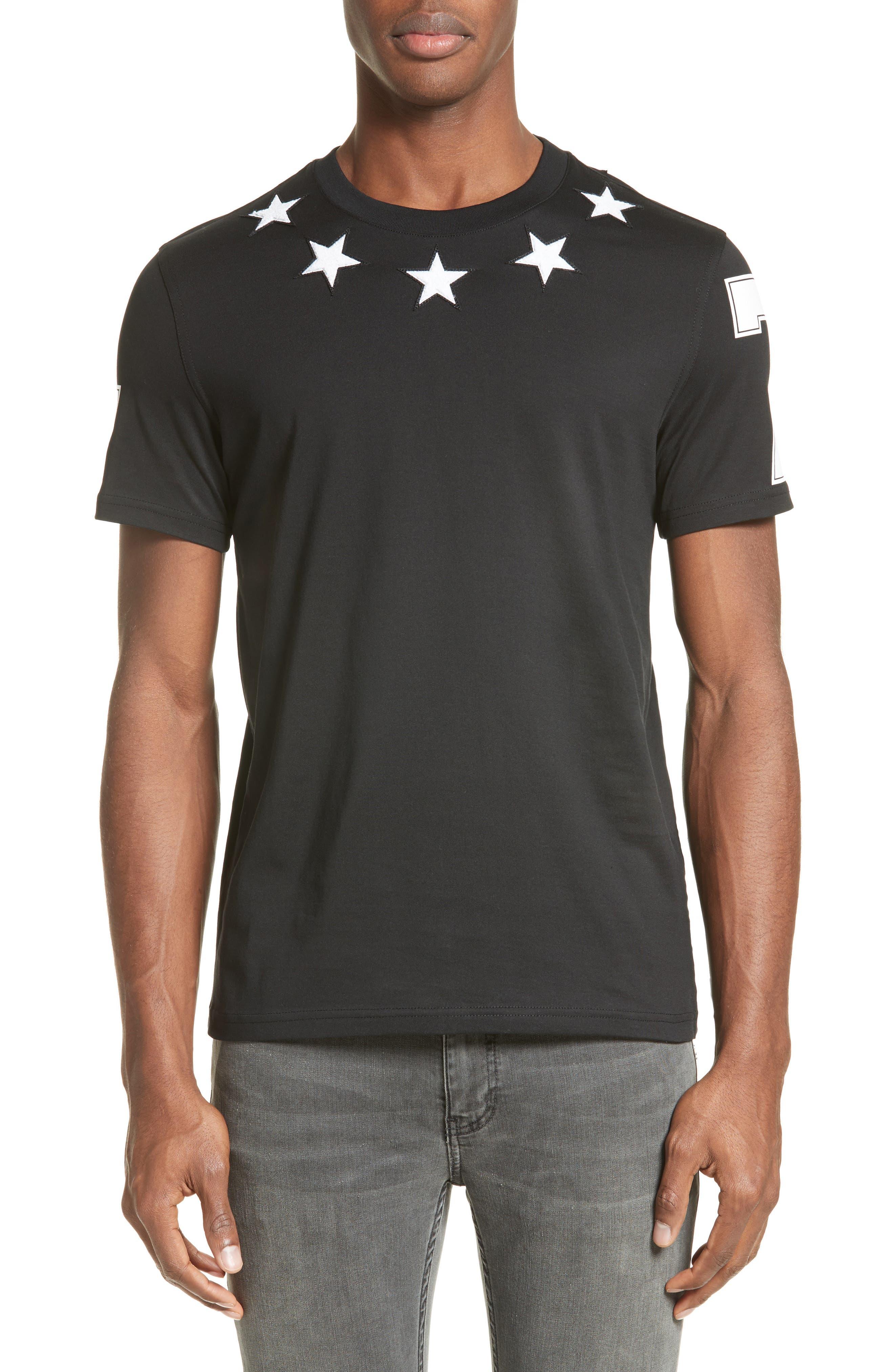Star 74 T-Shirt,                             Main thumbnail 1, color,                             001