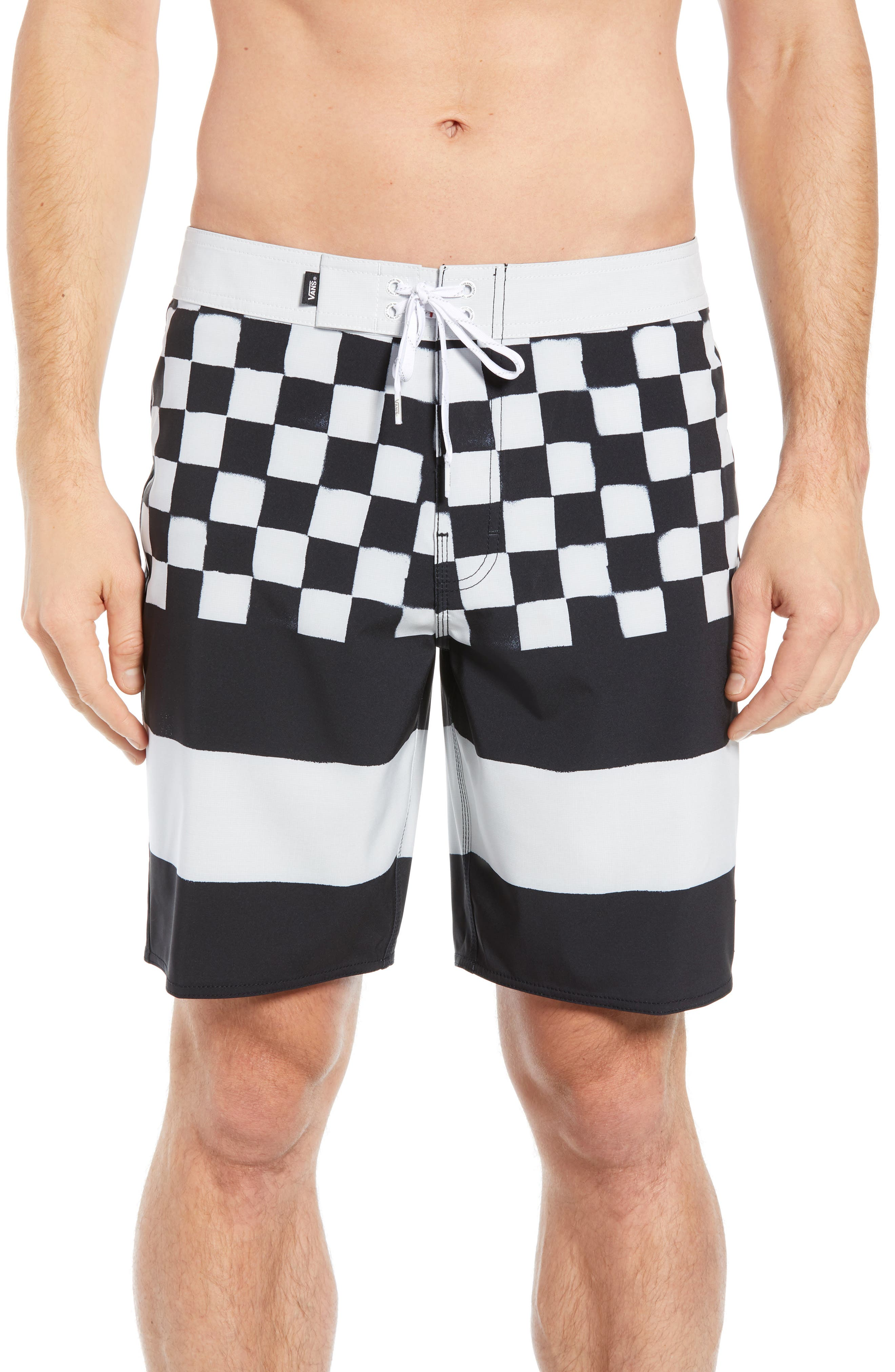 Vans Era Board Shorts, Black