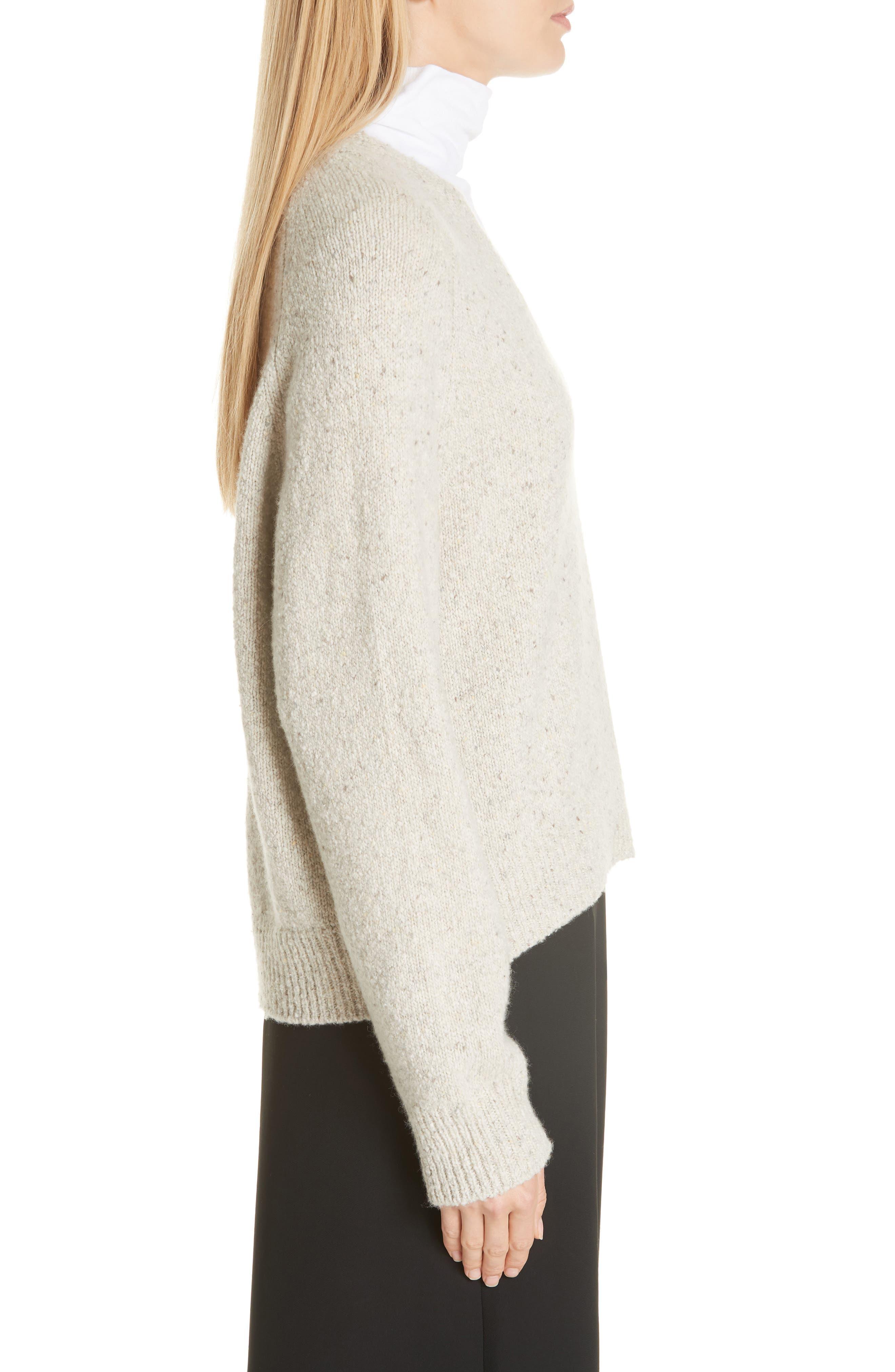 V-Neck Cashmere Sweater,                             Alternate thumbnail 3, color,                             902
