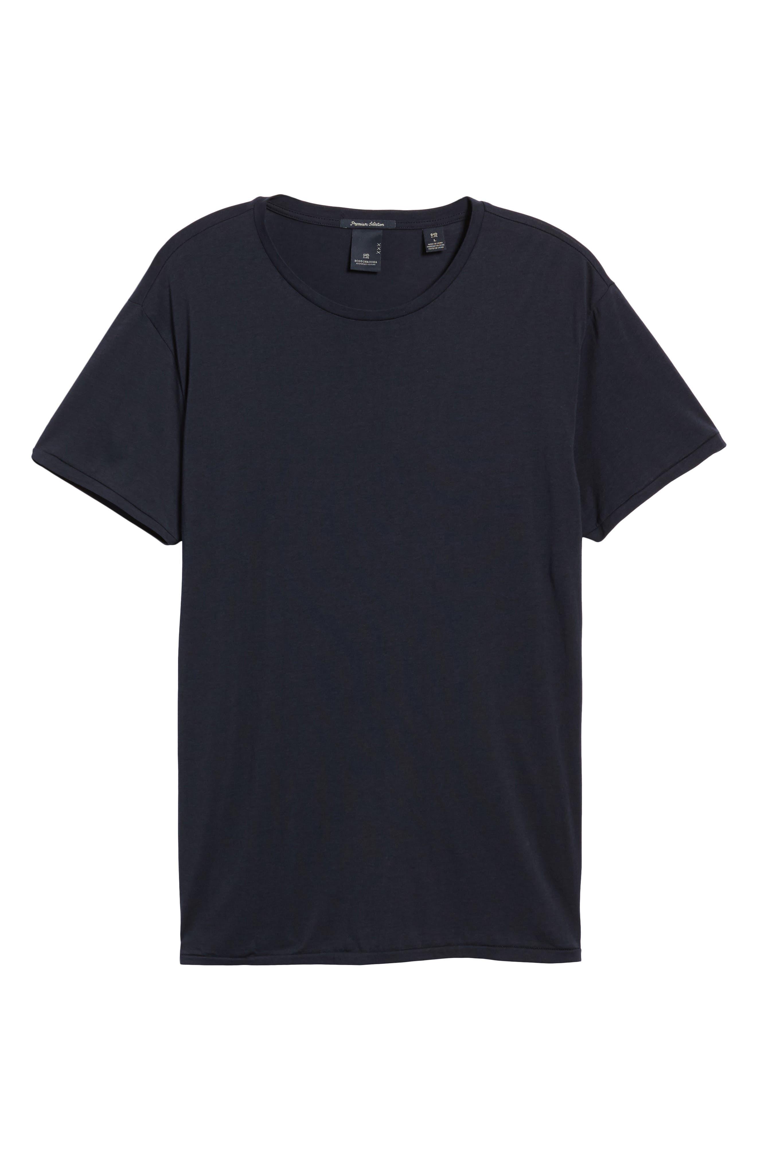 Chic Crewneck T-Shirt,                             Alternate thumbnail 6, color,                             401