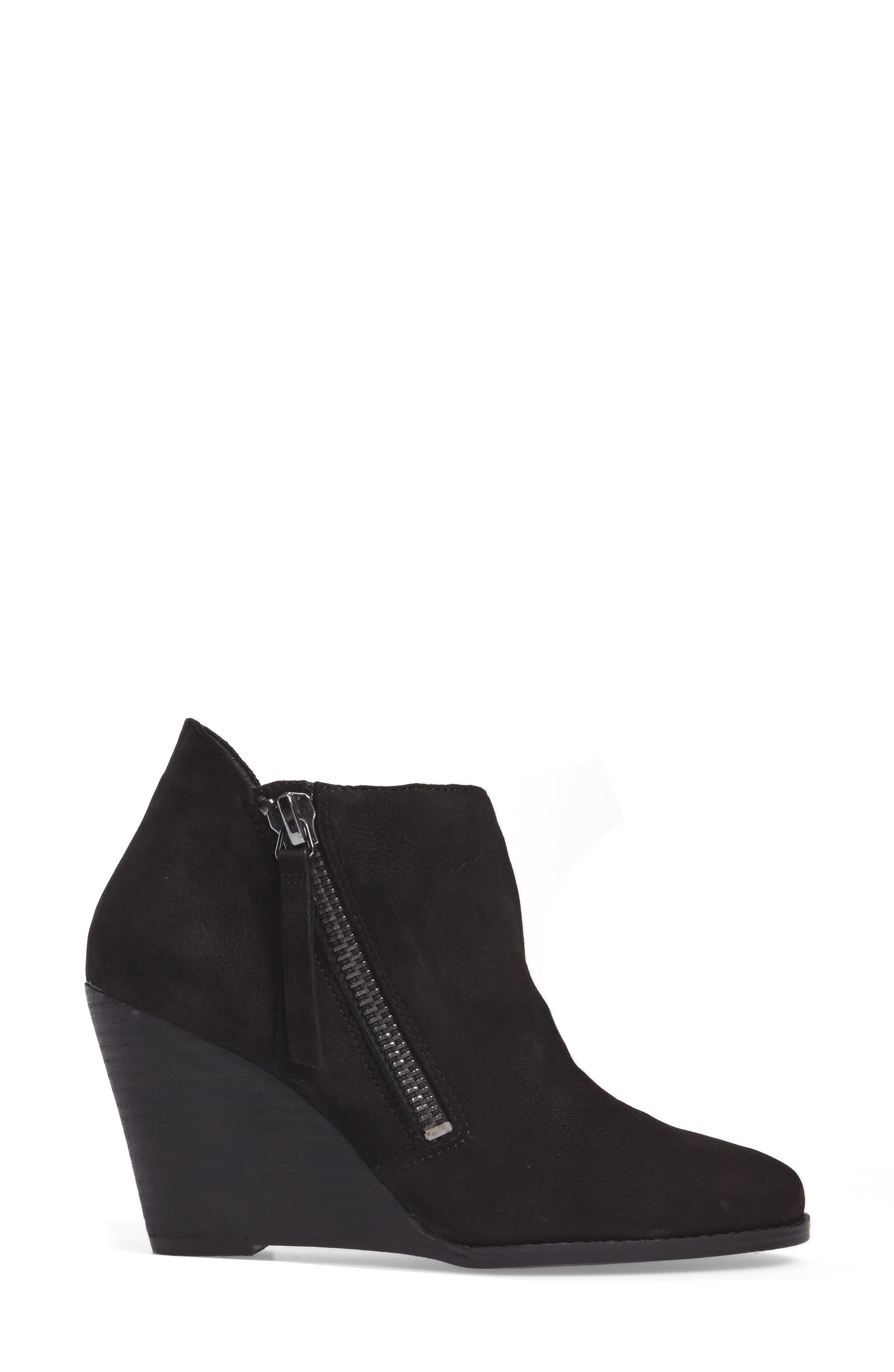 Carnivela Wedge Bootie,                             Alternate thumbnail 3, color,                             001