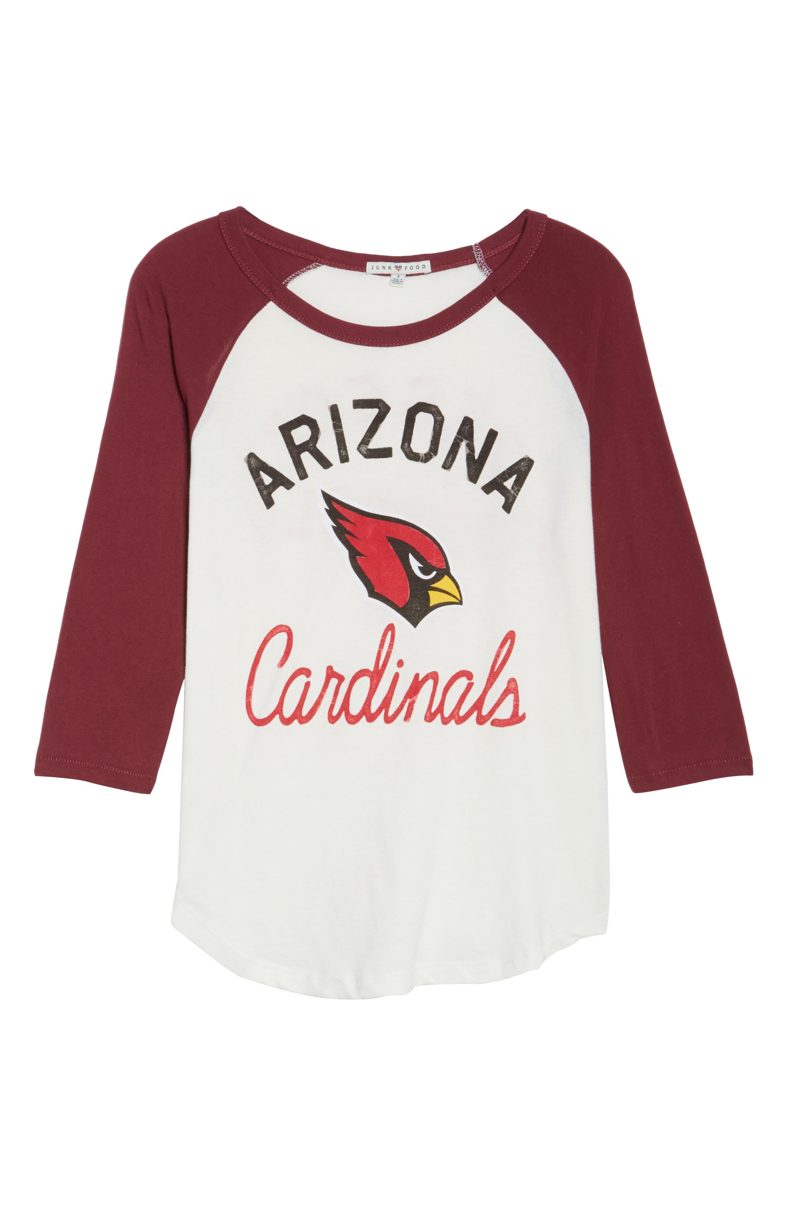 NFL Arizona Cardinals Raglan Tee,                             Alternate thumbnail 6, color,                             189