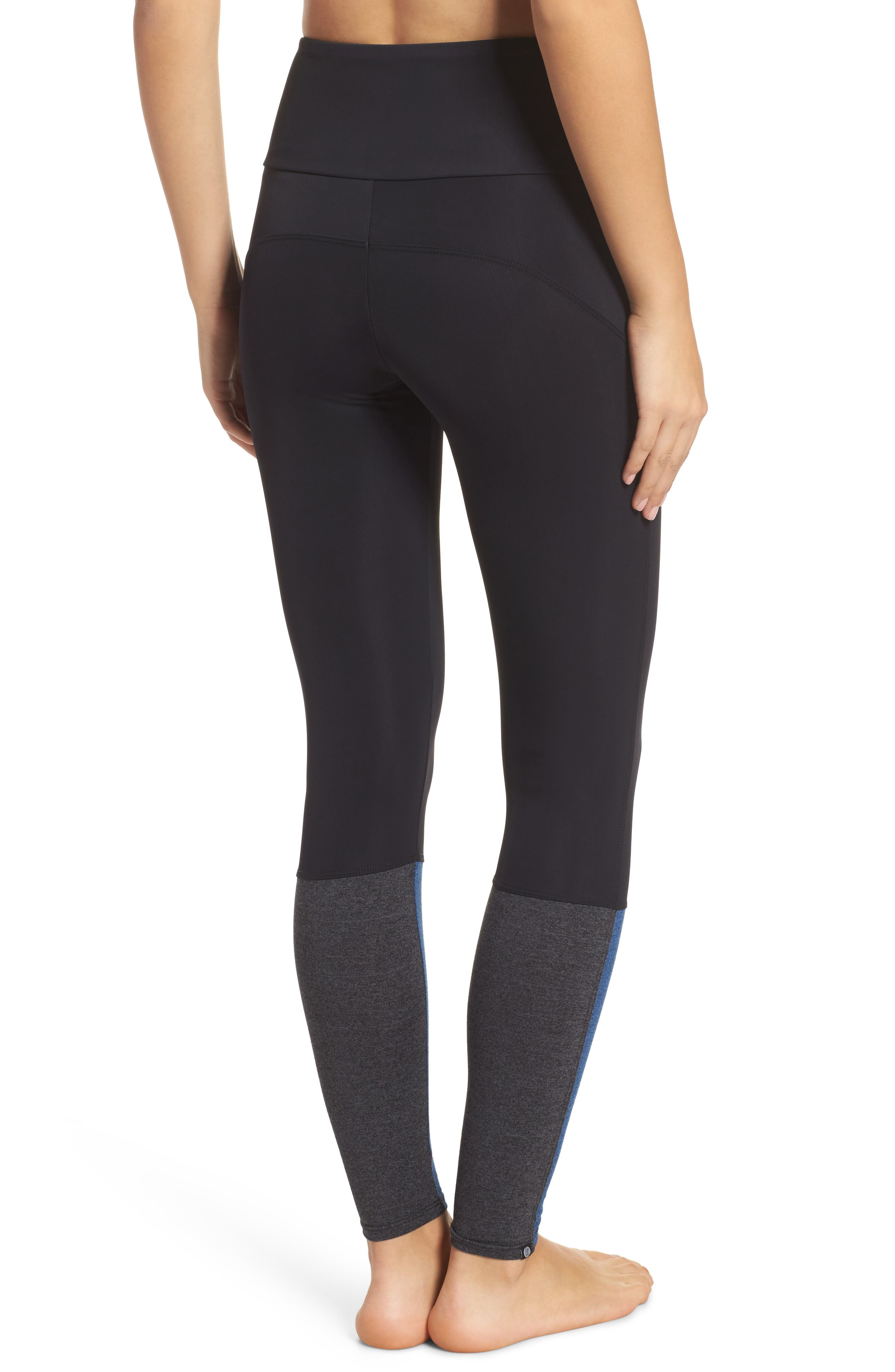 Street High Waist Leggings,                             Alternate thumbnail 4, color,