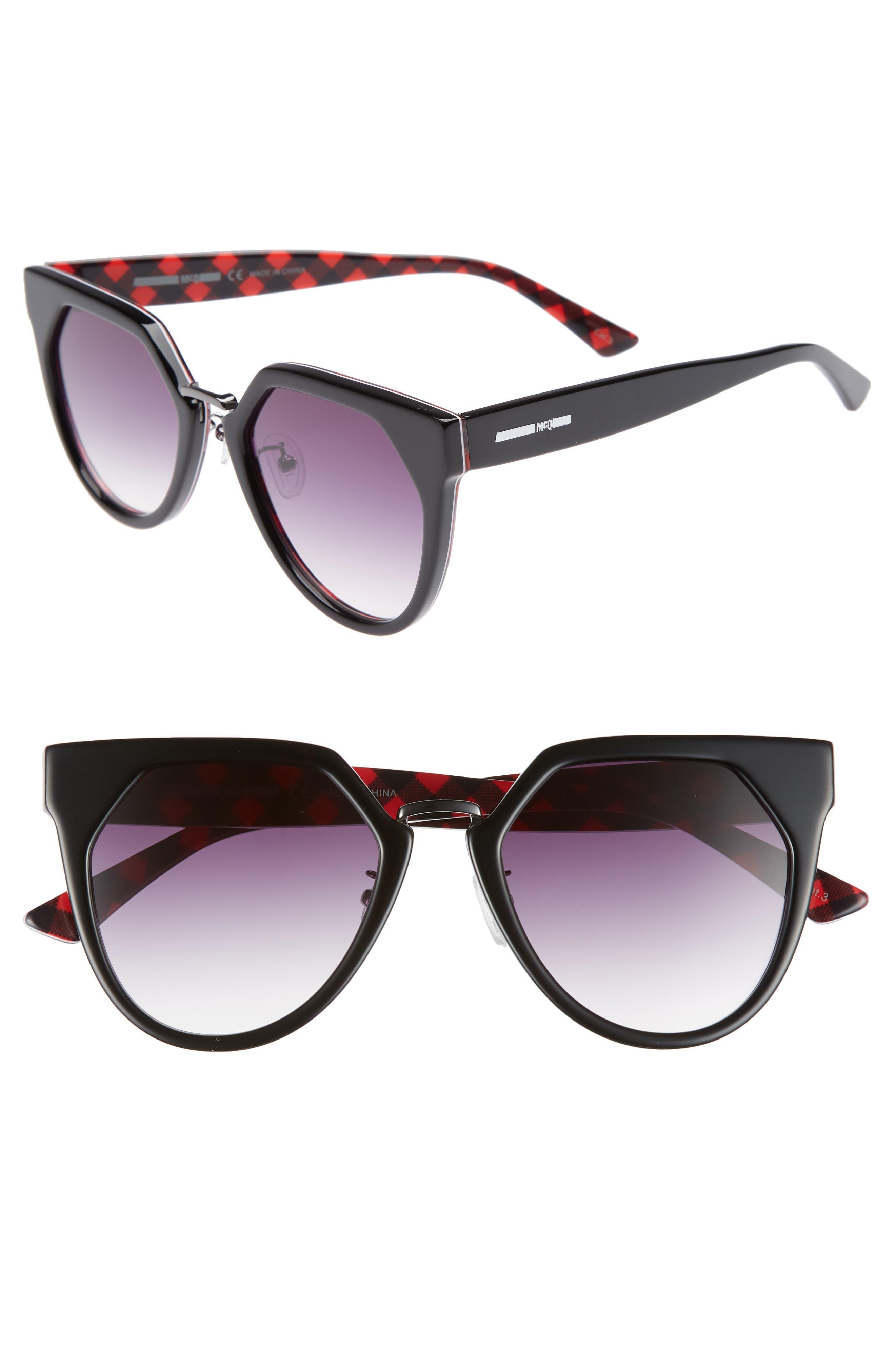 53mm Cat Eye Sunglasses,                             Main thumbnail 1, color,