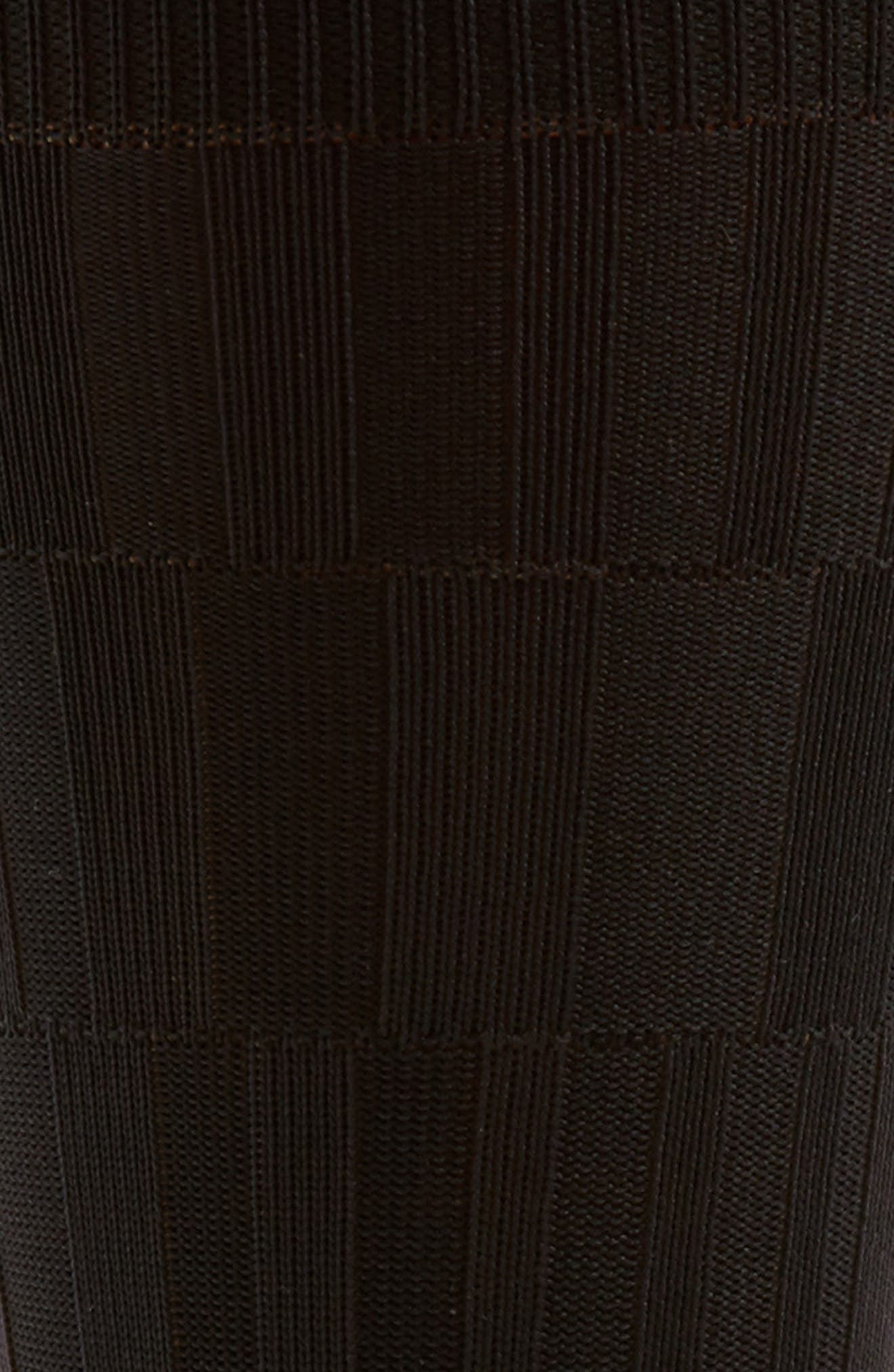 Bar Texture Socks,                             Alternate thumbnail 3, color,