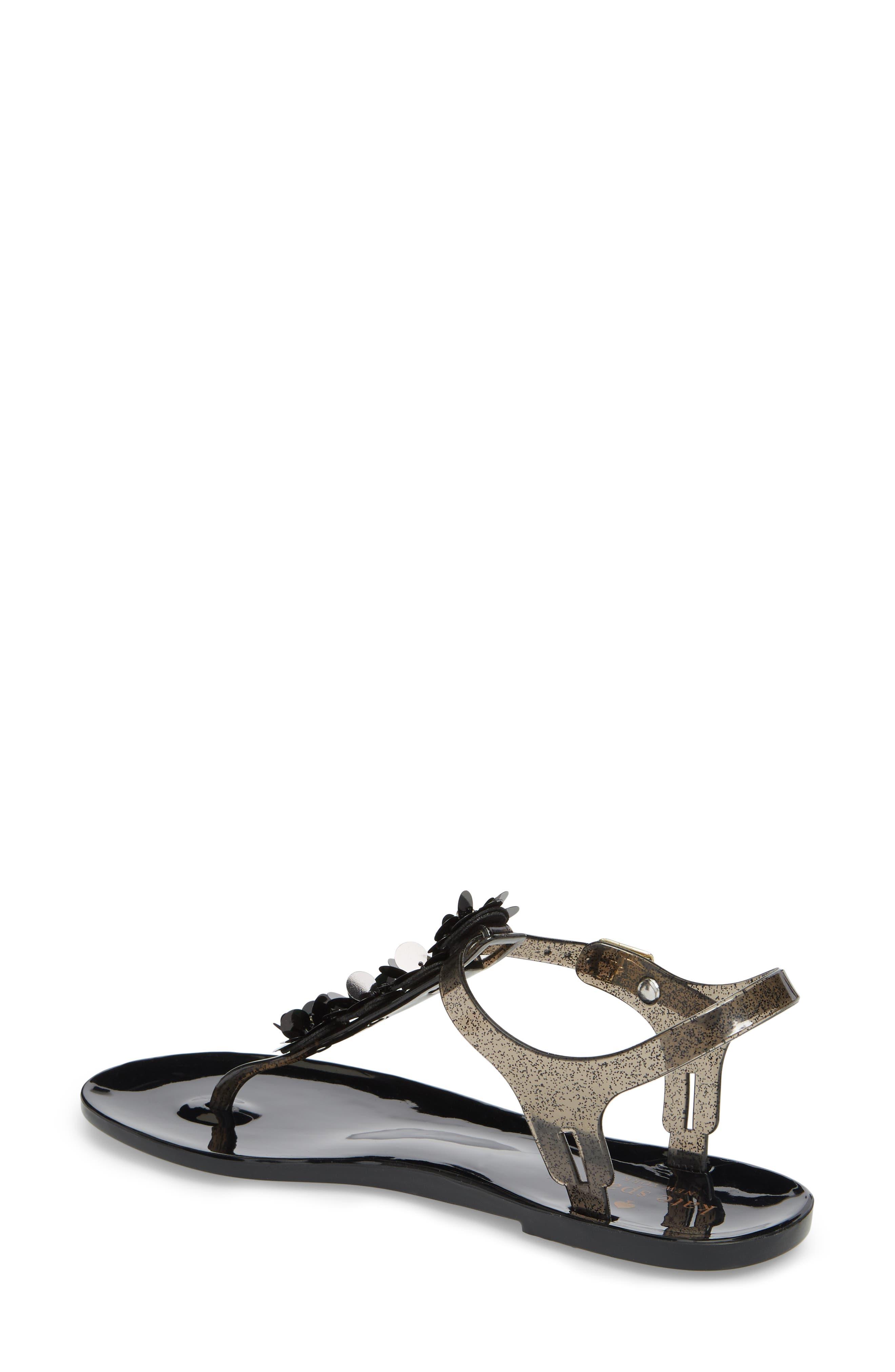 farrah thong sandal,                             Alternate thumbnail 2, color,                             001