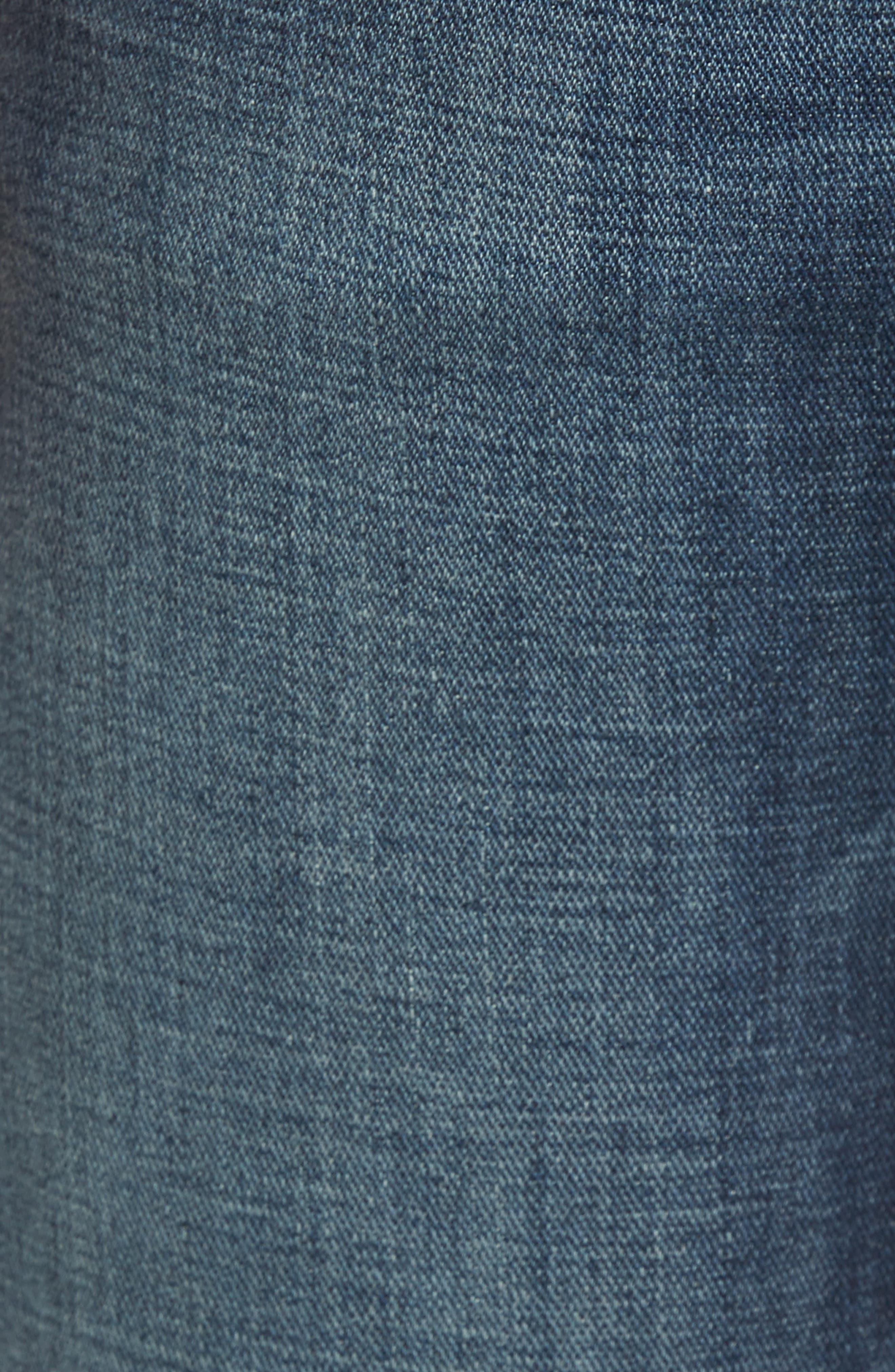 Brett Bootcut Jeans,                             Alternate thumbnail 5, color,                             DARK NEW YORK