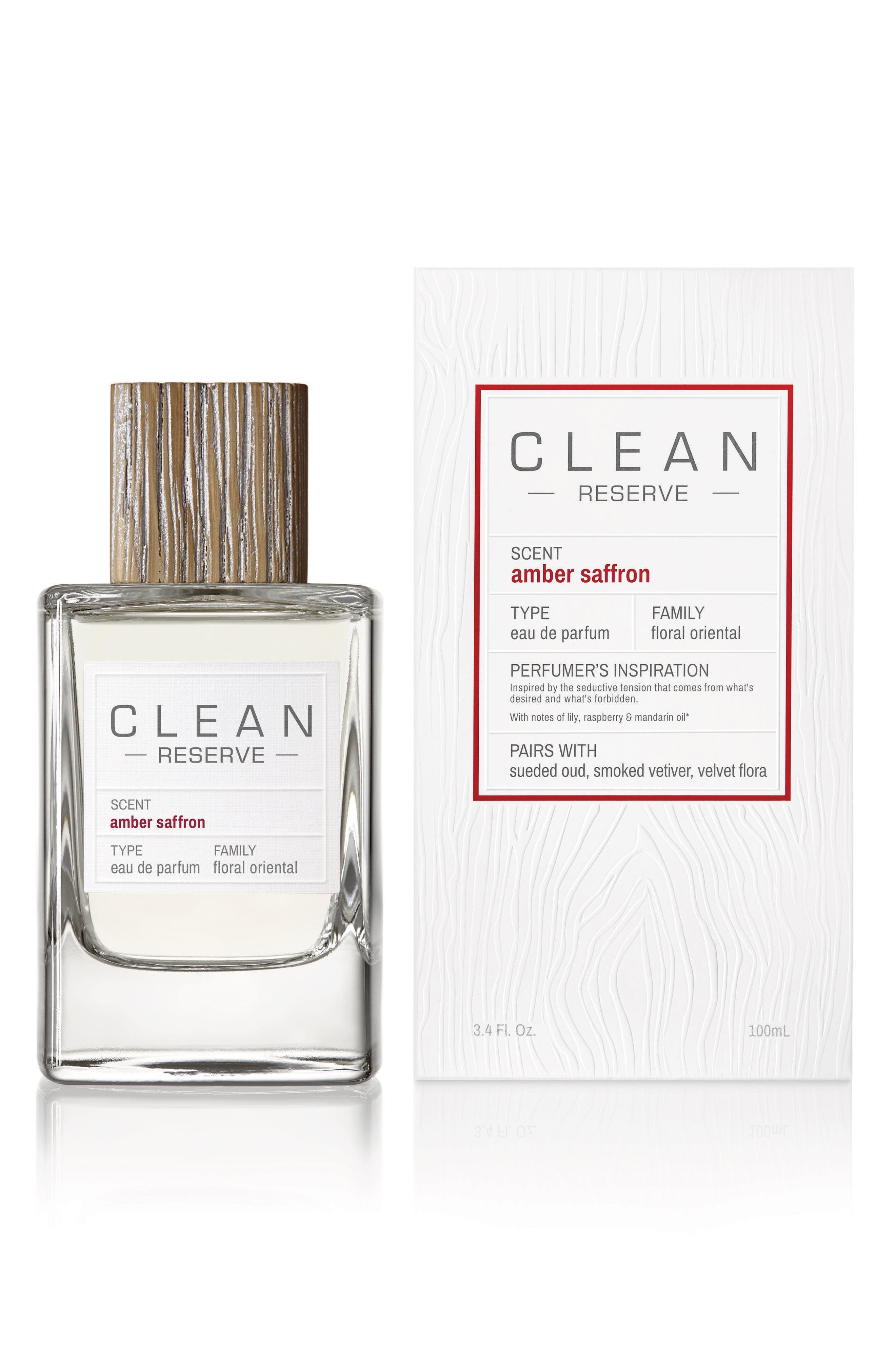 Amber Saffron Eau de Parfum,                             Alternate thumbnail 4, color,                             NO COLOR