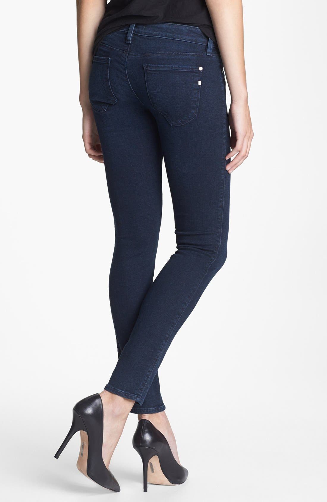 'The Shya' Cigarette Skinny Jeans,                             Alternate thumbnail 2, color,                             401