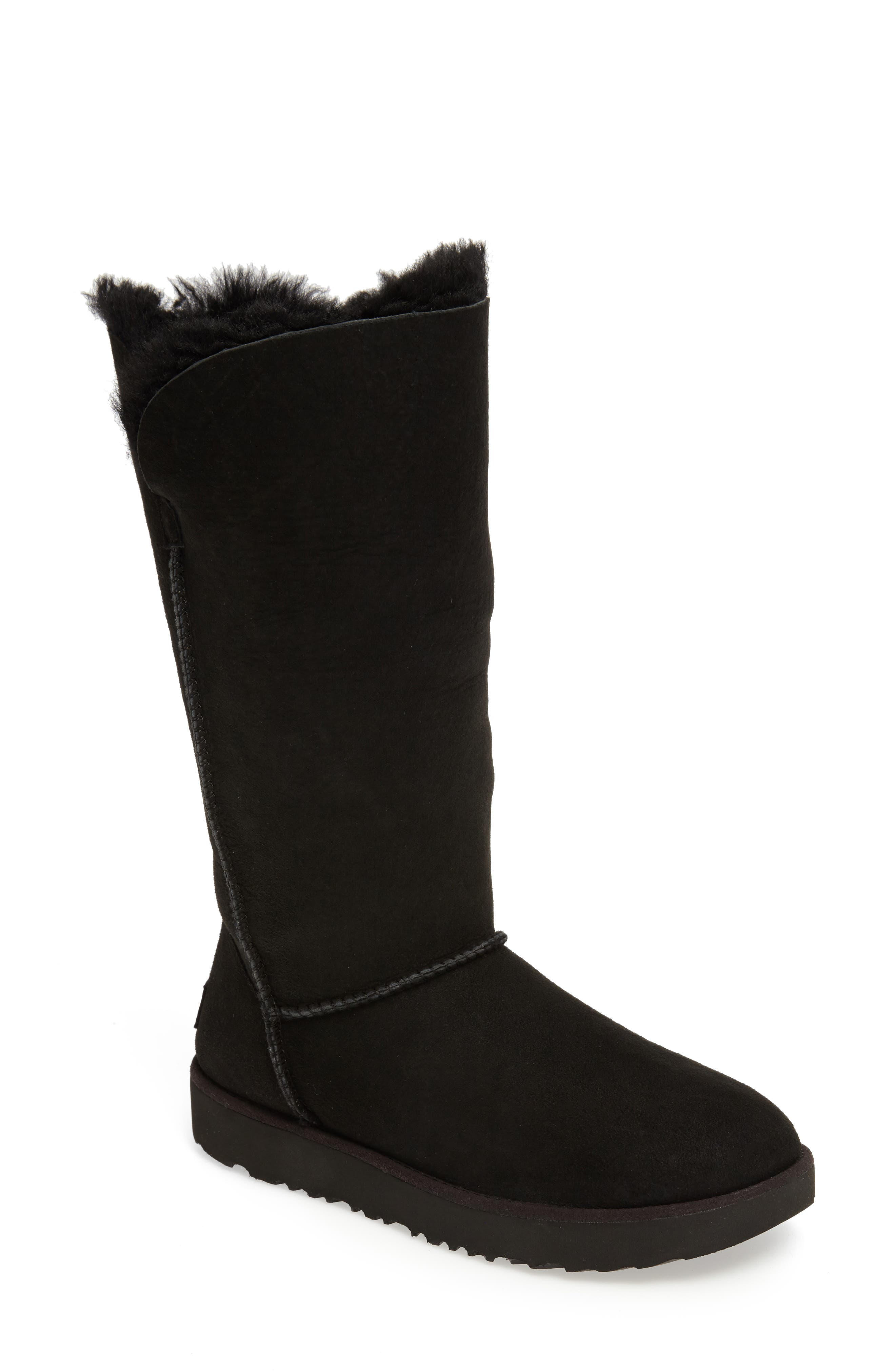 Classic Cuff Tall Boot,                             Alternate thumbnail 3, color,