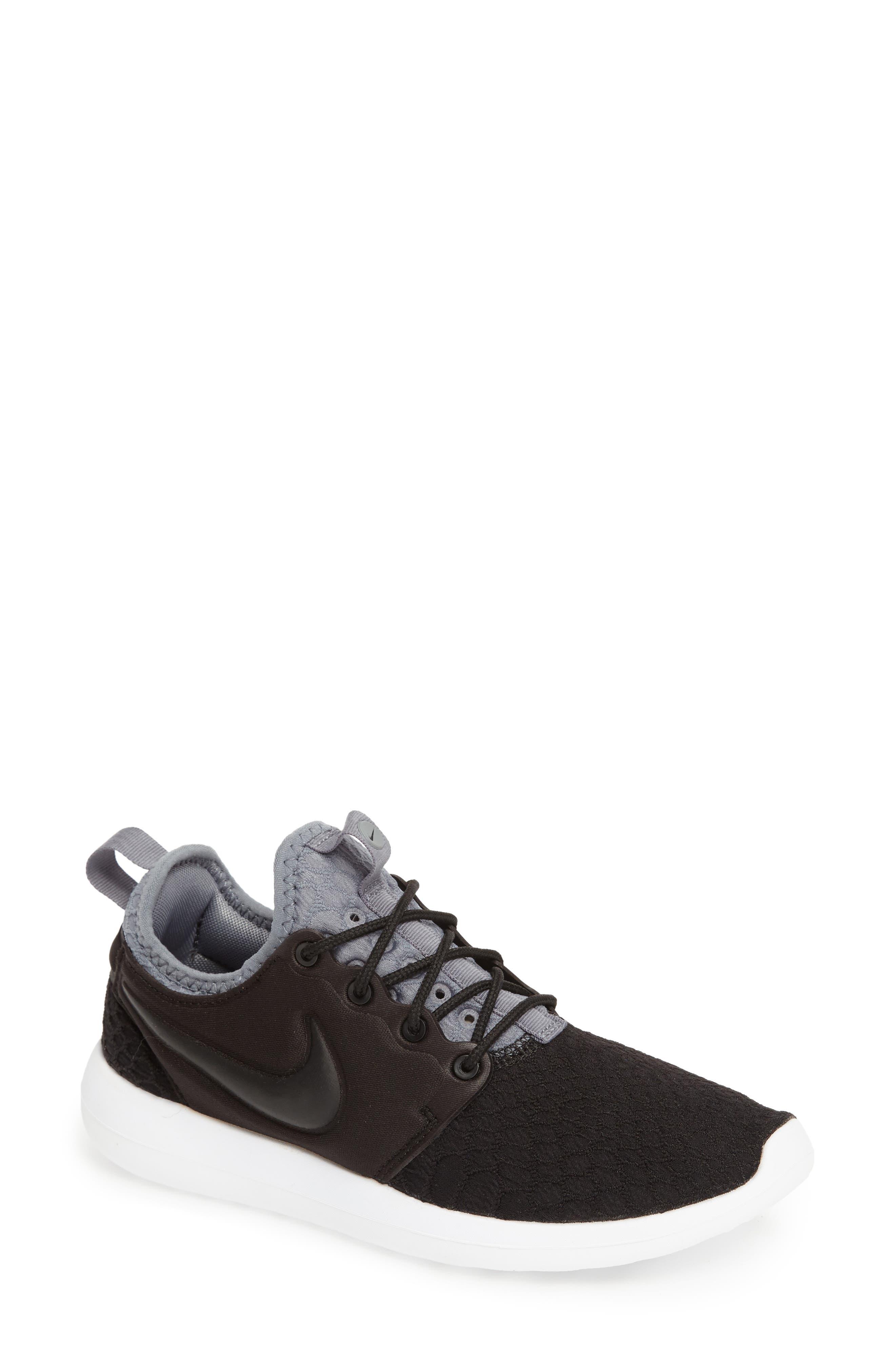 Roshe Two SE Sneaker,                             Main thumbnail 1, color,                             001