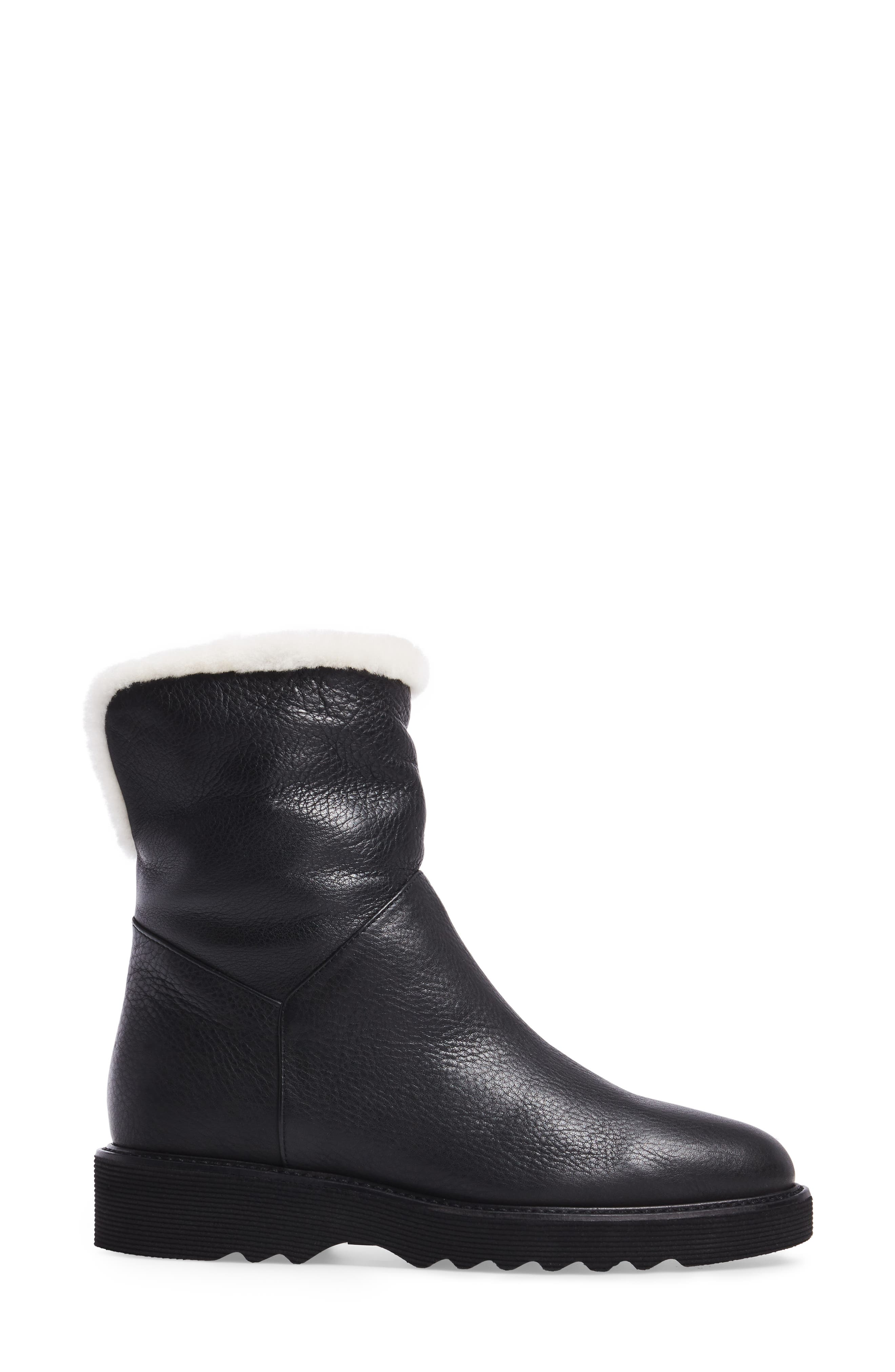 Kimberly Weatherproof Genuine Shearling Bootie,                             Alternate thumbnail 10, color,