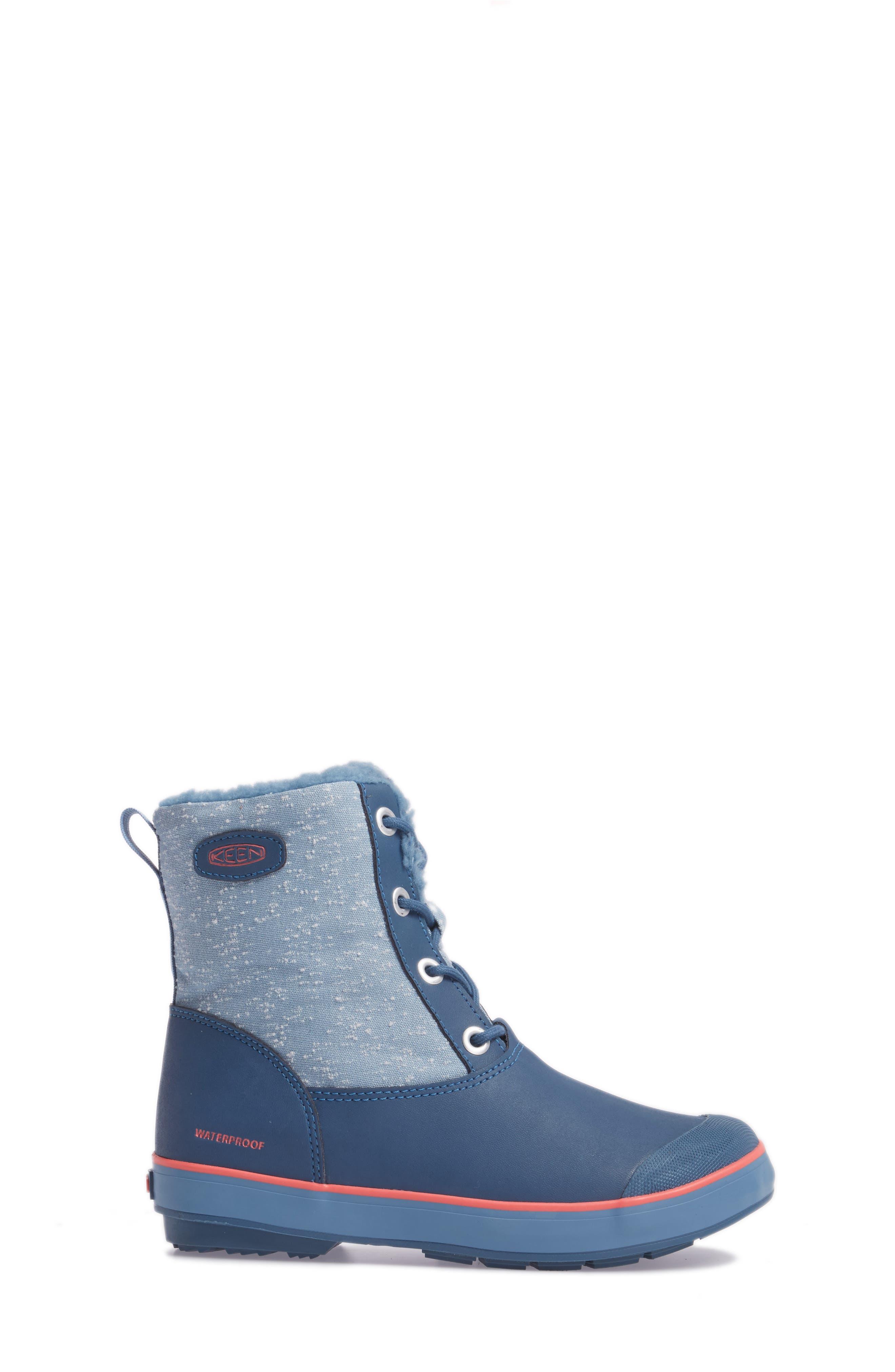 Elsa Waterproof Faux Fur Lined Snow Boot,                             Alternate thumbnail 13, color,