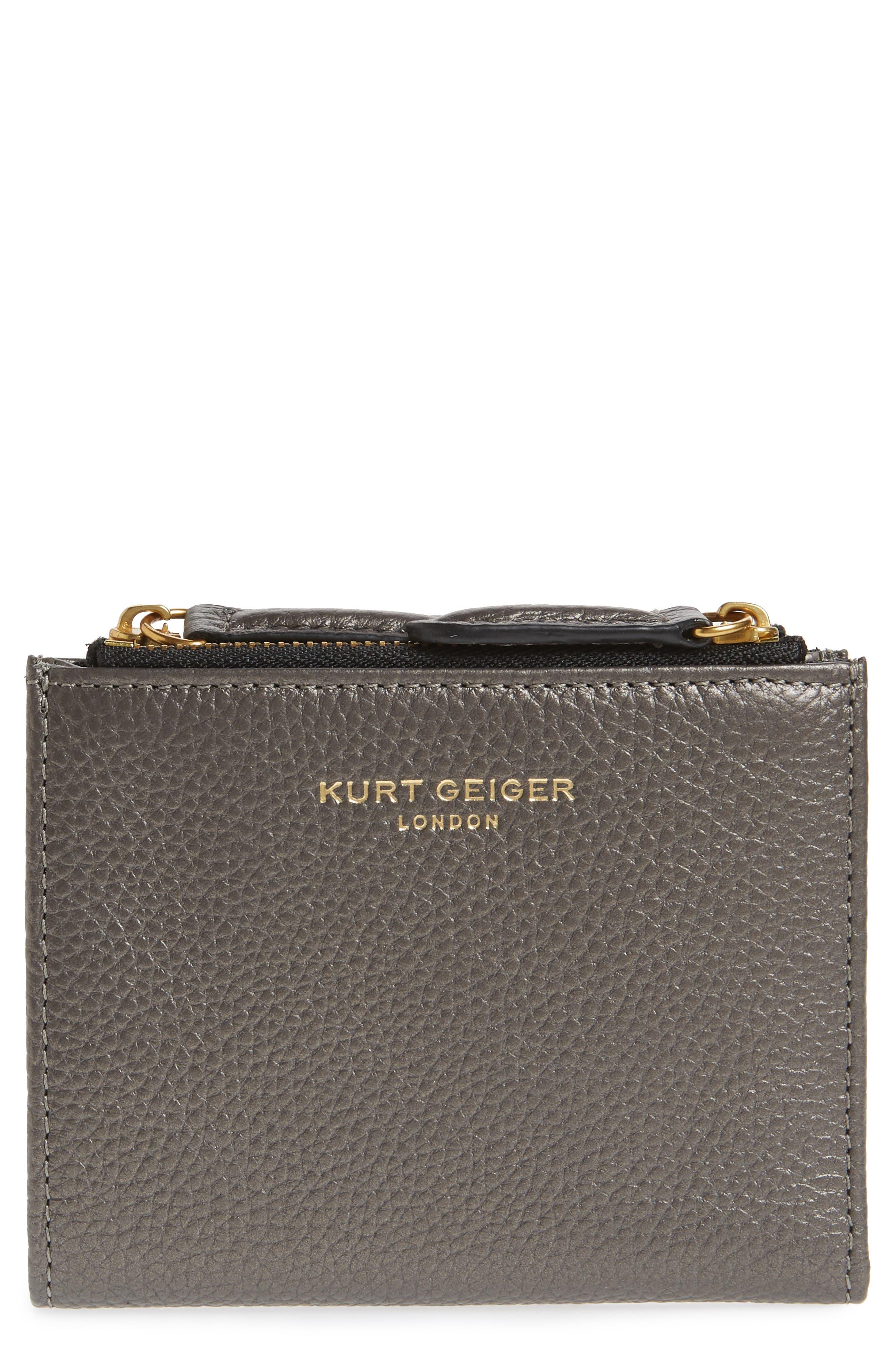 E Leather Wallet,                             Main thumbnail 2, color,