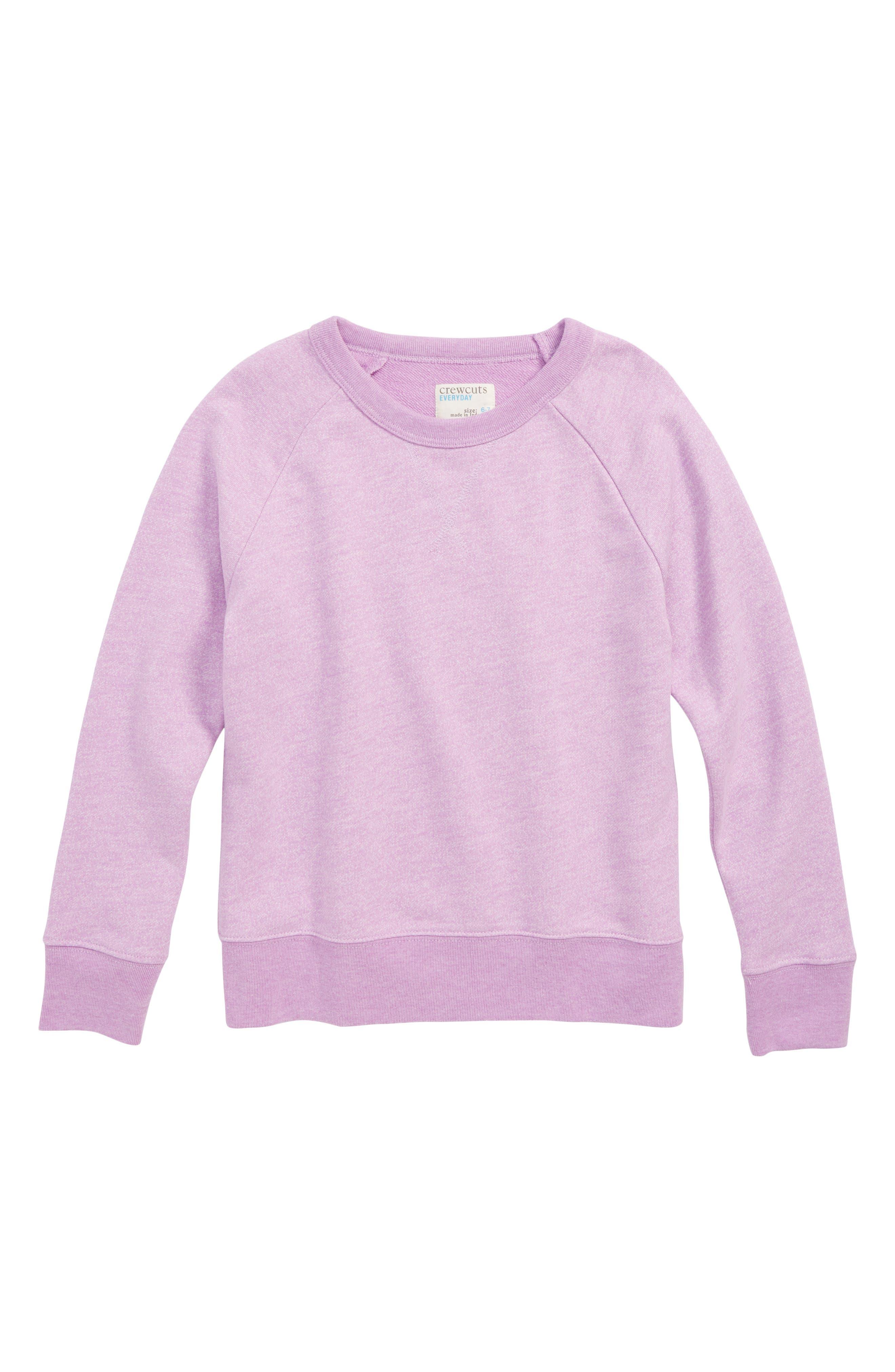 Crewneck Sweatshirt,                             Main thumbnail 1, color,                             SUNDRENCHED POOL