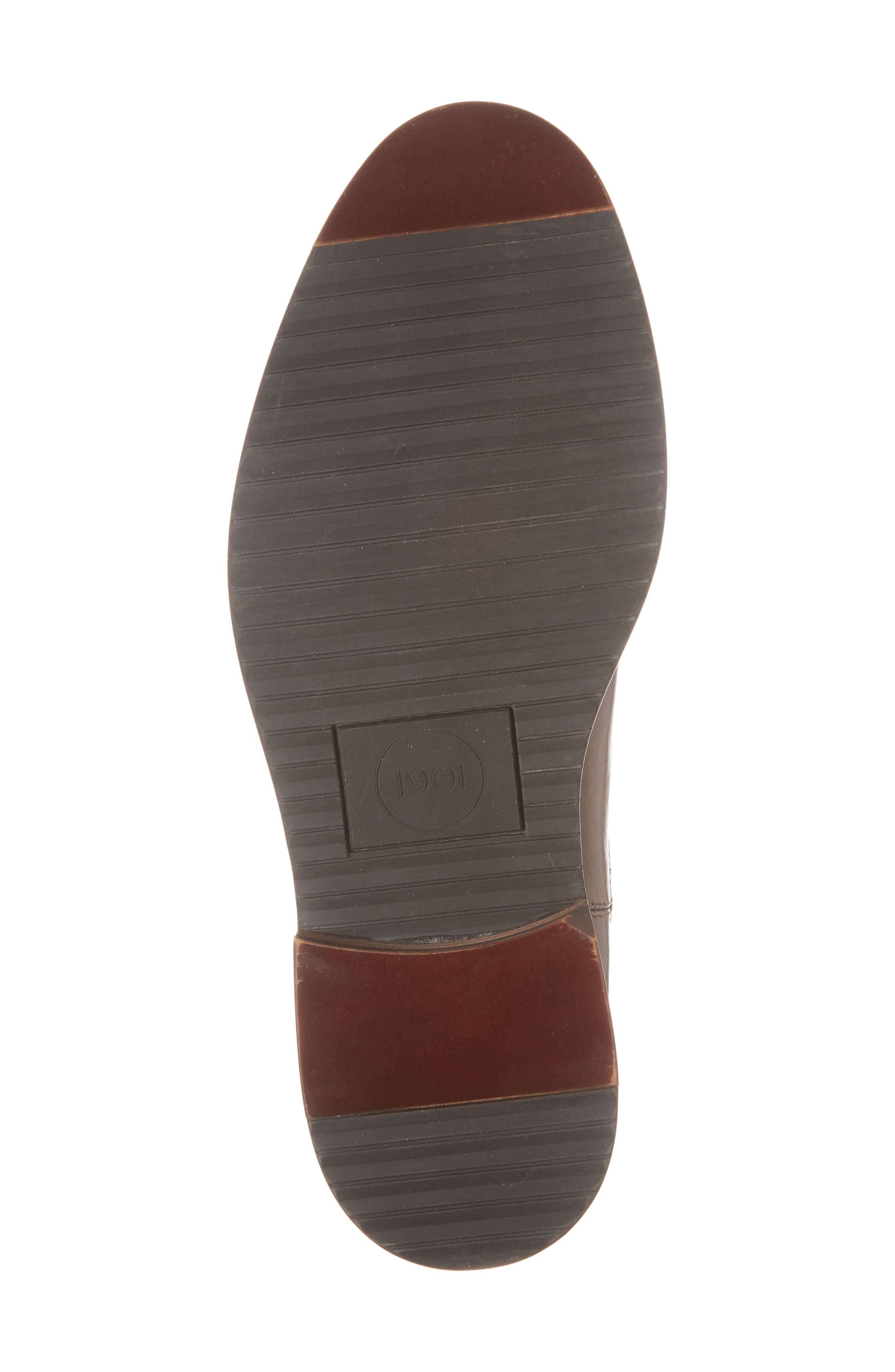 Brooks Chelsea Boot,                             Alternate thumbnail 6, color,                             BROWN LEATHER