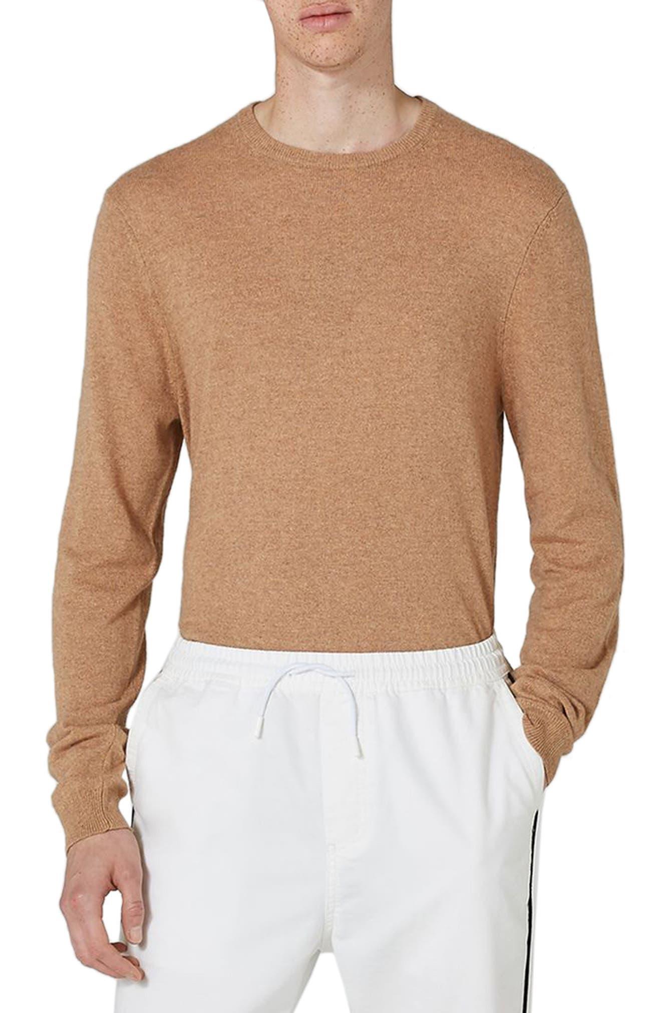 Crewneck Sweater,                         Main,                         color, 200