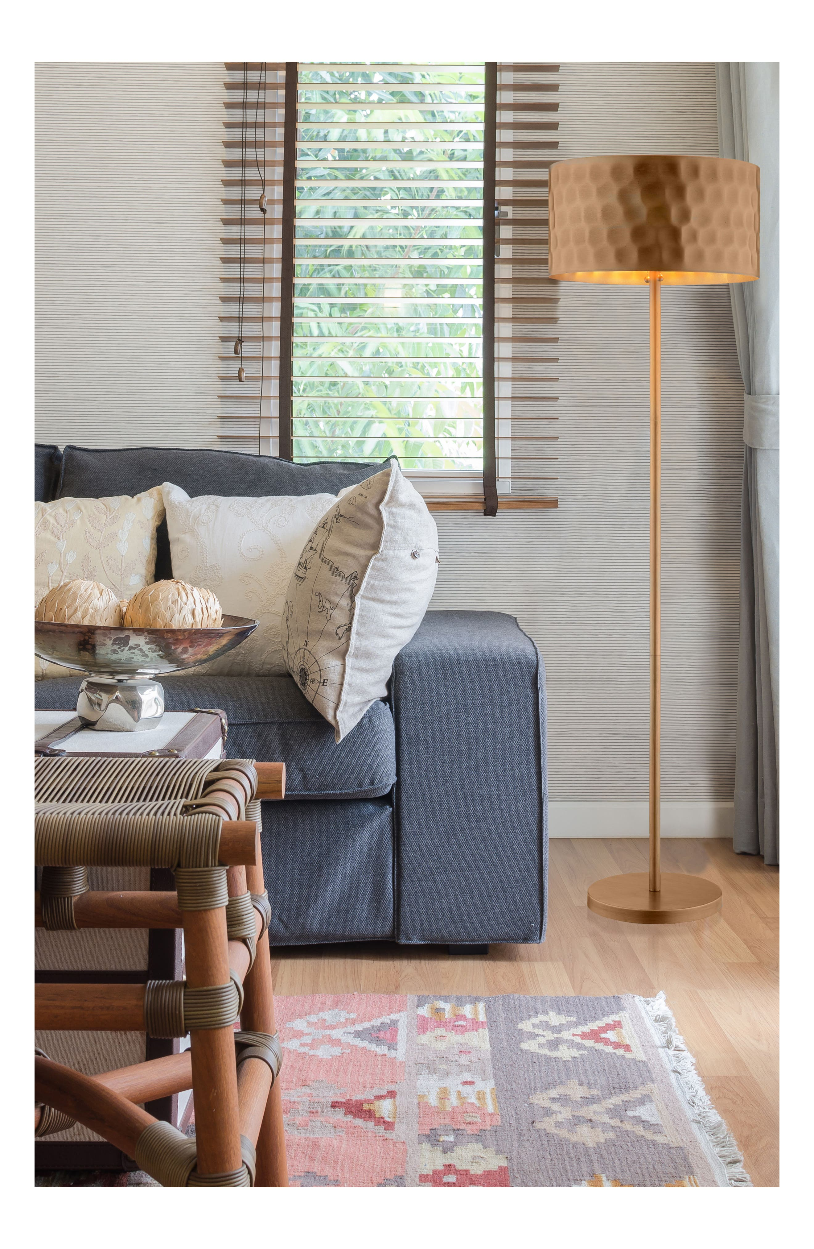 JAlexander Portia Floor Lamp,                             Alternate thumbnail 2, color,                             220