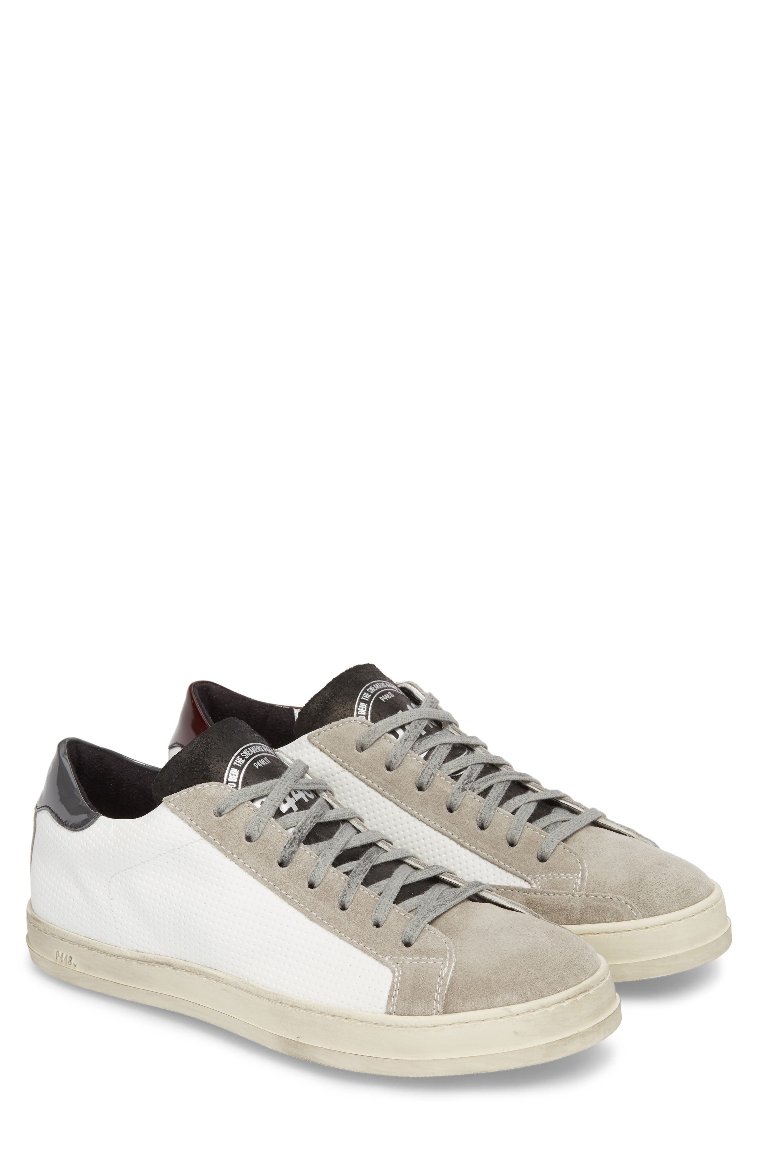 John Mix Low Top Sneaker,                             Alternate thumbnail 2, color,                             100