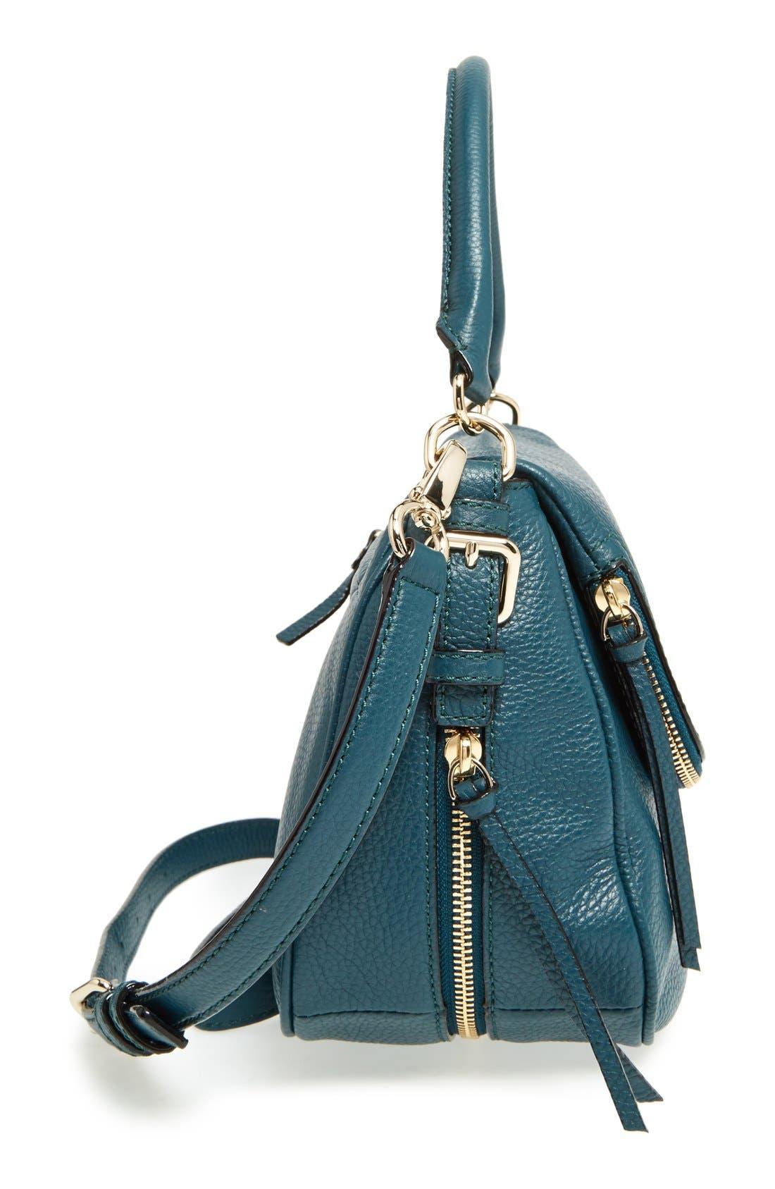 cobble hill - deva leather crossbody bag,                             Alternate thumbnail 35, color,