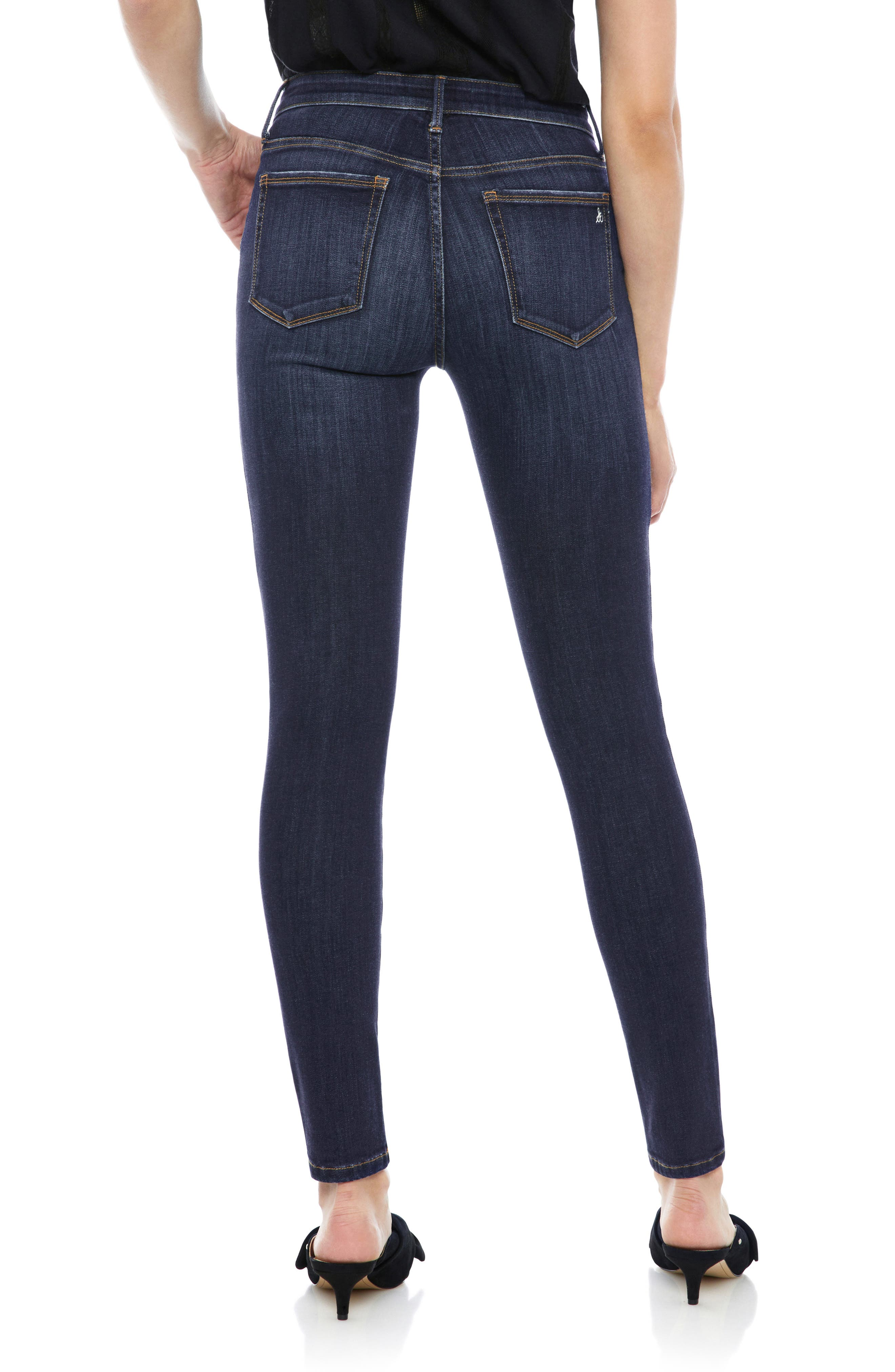 The Stiletto High Rise Skinny Jeans,                             Alternate thumbnail 2, color,                             EDDIE