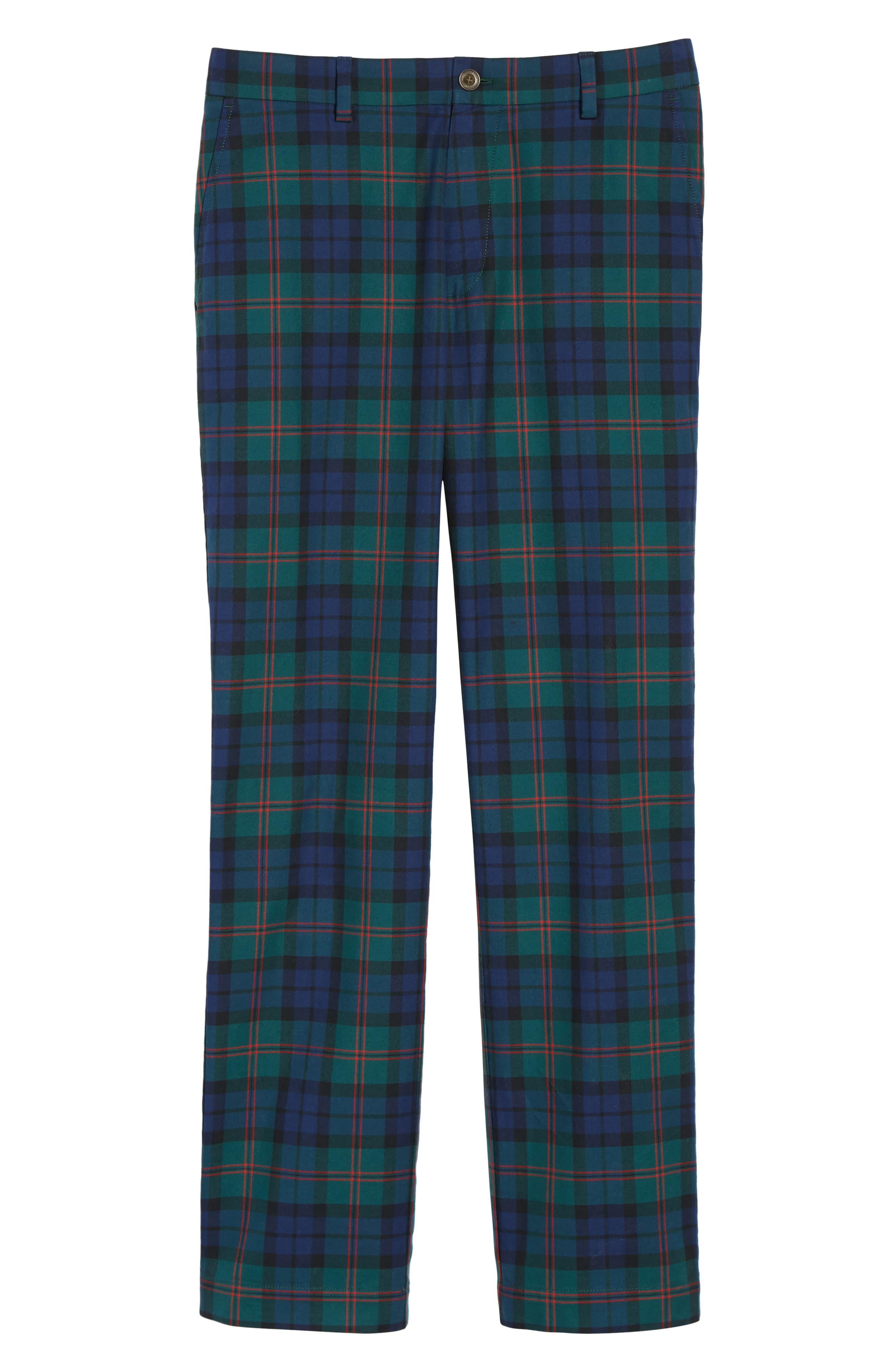 Breaker Holiday Tartan Pants,                             Alternate thumbnail 6, color,