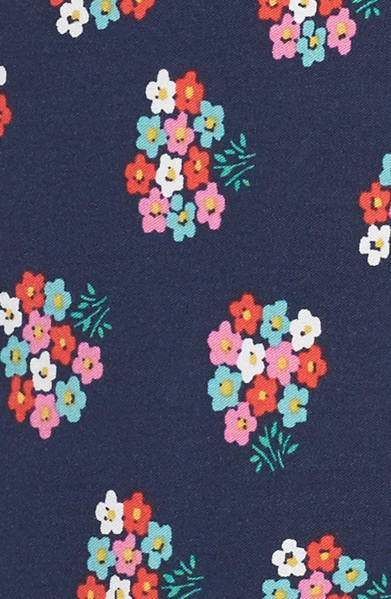 Print Tea Dress,                             Alternate thumbnail 3, color,                             414