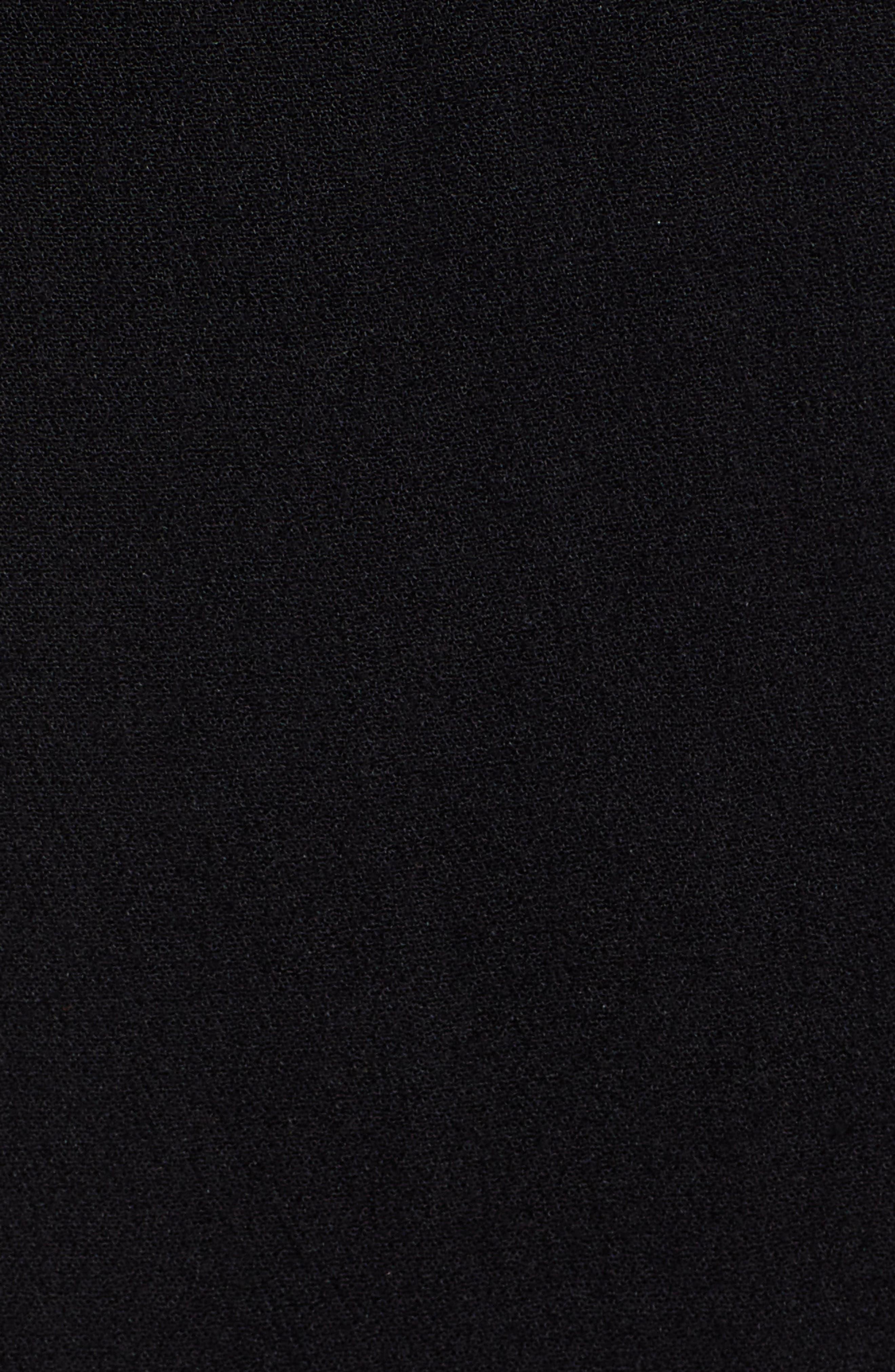 LIRA CLOTHING,                             Cedar Break Midi Dress,                             Alternate thumbnail 6, color,                             BLACK