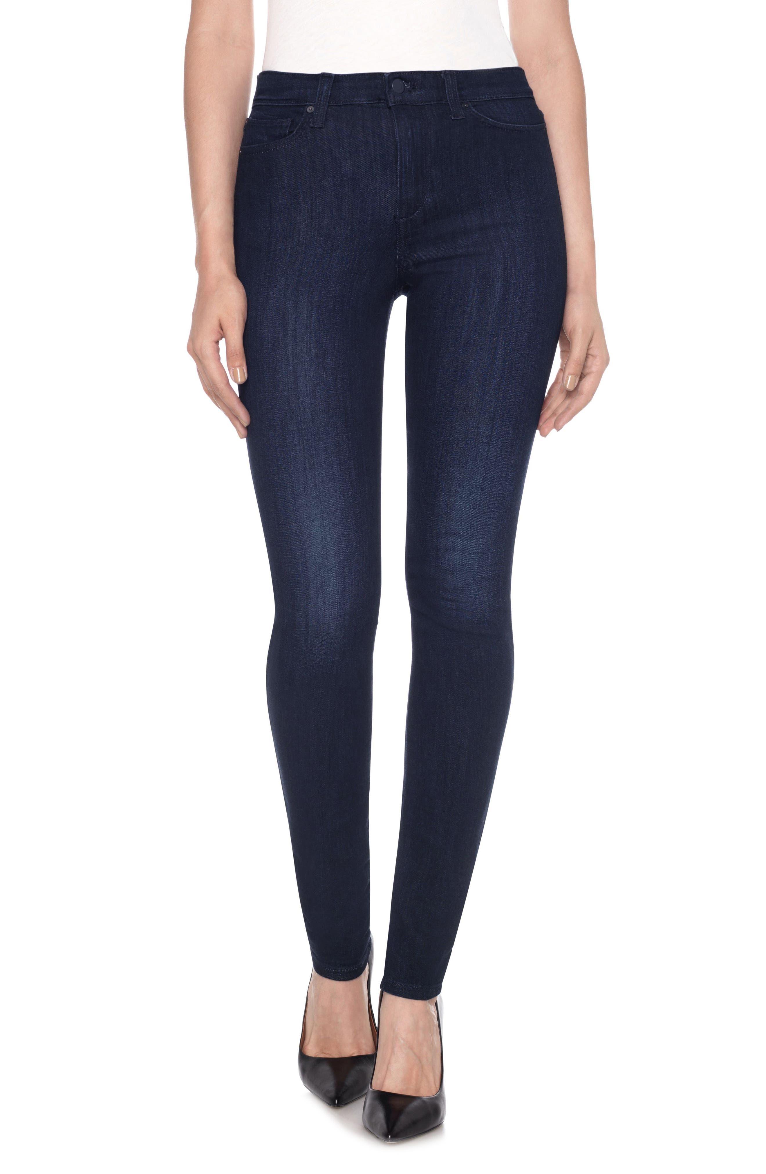 Charlie High Waist Skinny Jeans,                         Main,                         color, 400