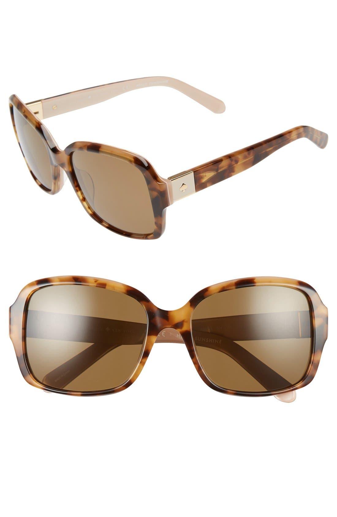 annor 54mm polarized sunglasses,                             Main thumbnail 7, color,