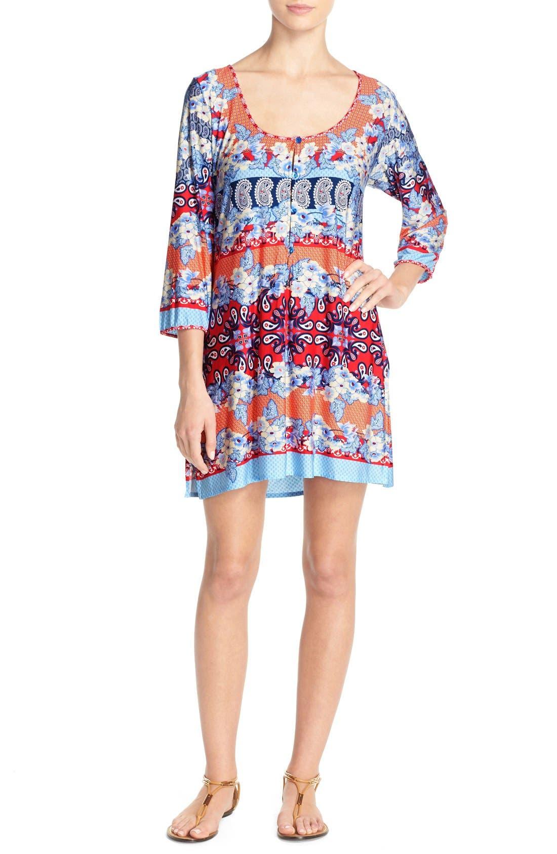 Stretch Modal Cover-Up Dress,                         Main,                         color, 080