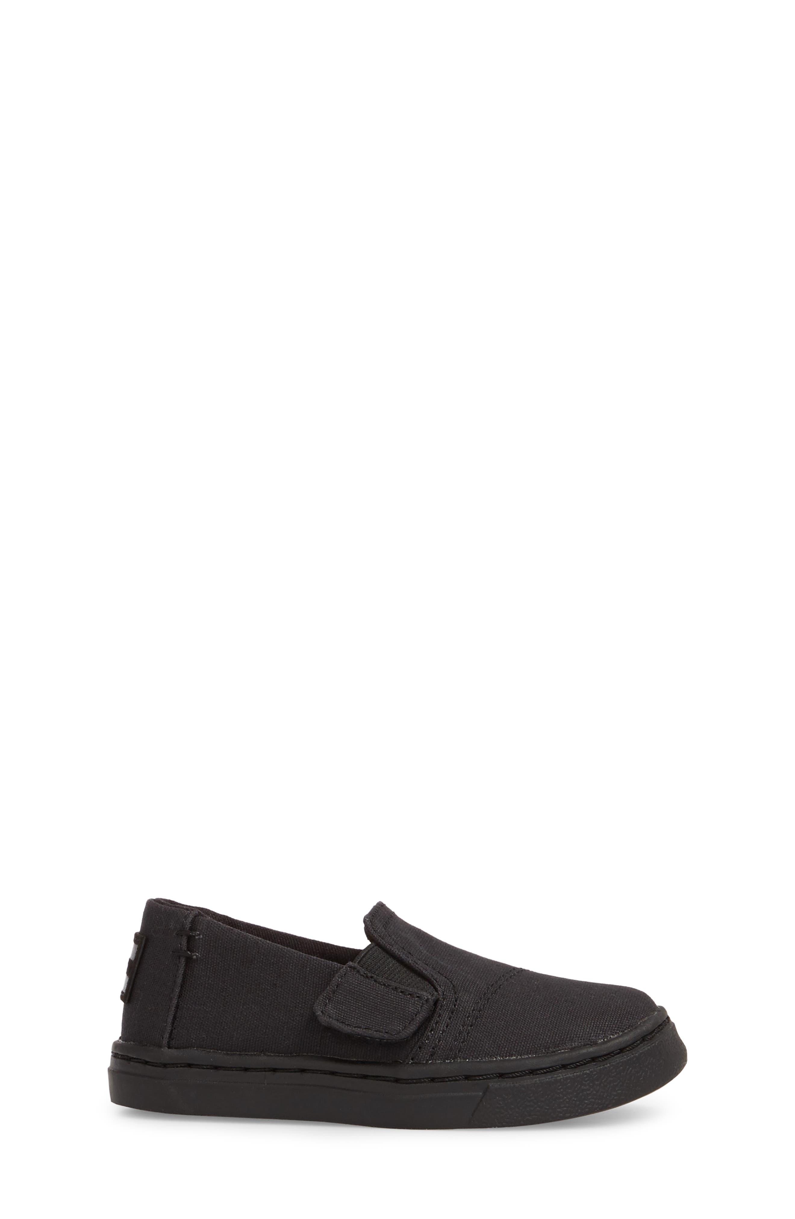 TOMS,                             Luca Slip-On Sneaker,                             Alternate thumbnail 3, color,                             001