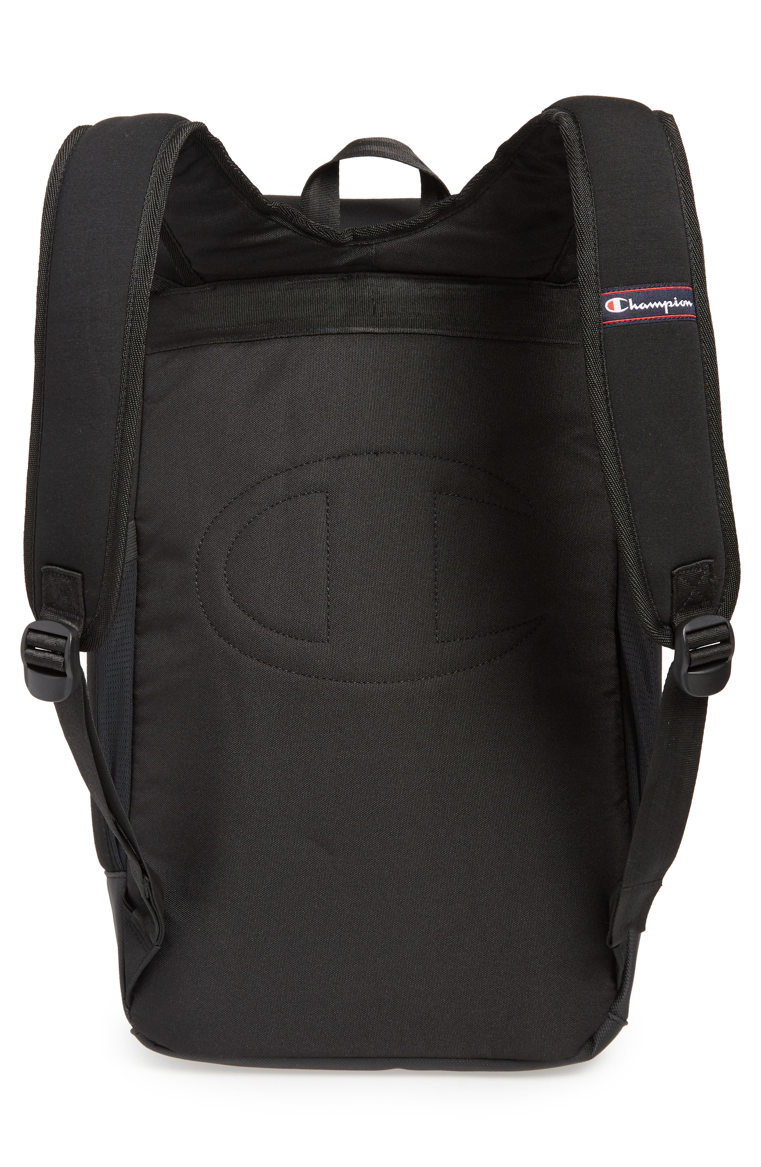 Top Load Backpack,                             Alternate thumbnail 3, color,                             BLACK