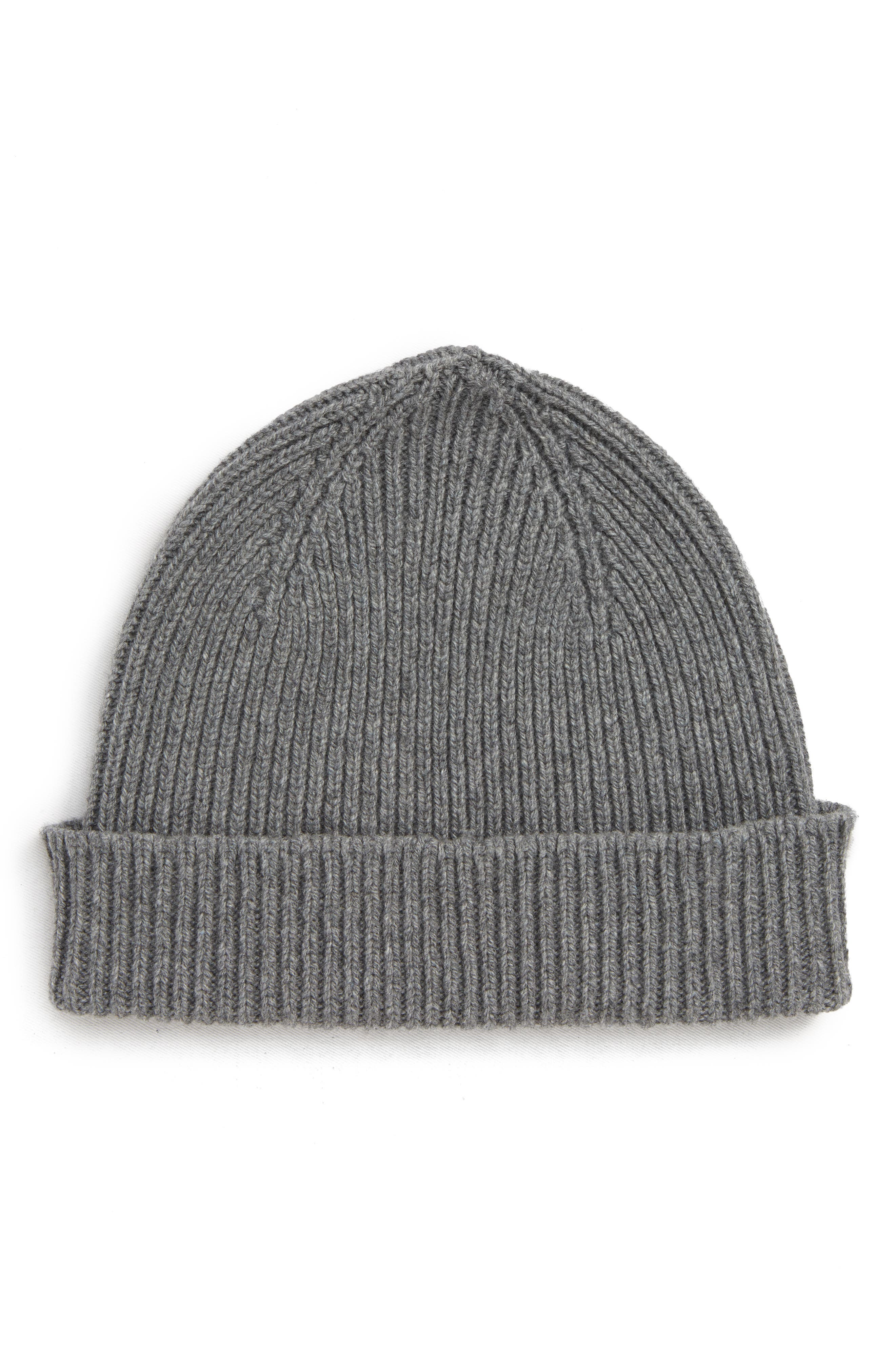 Cashmere & Wool Beanie,                         Main,                         color, 028