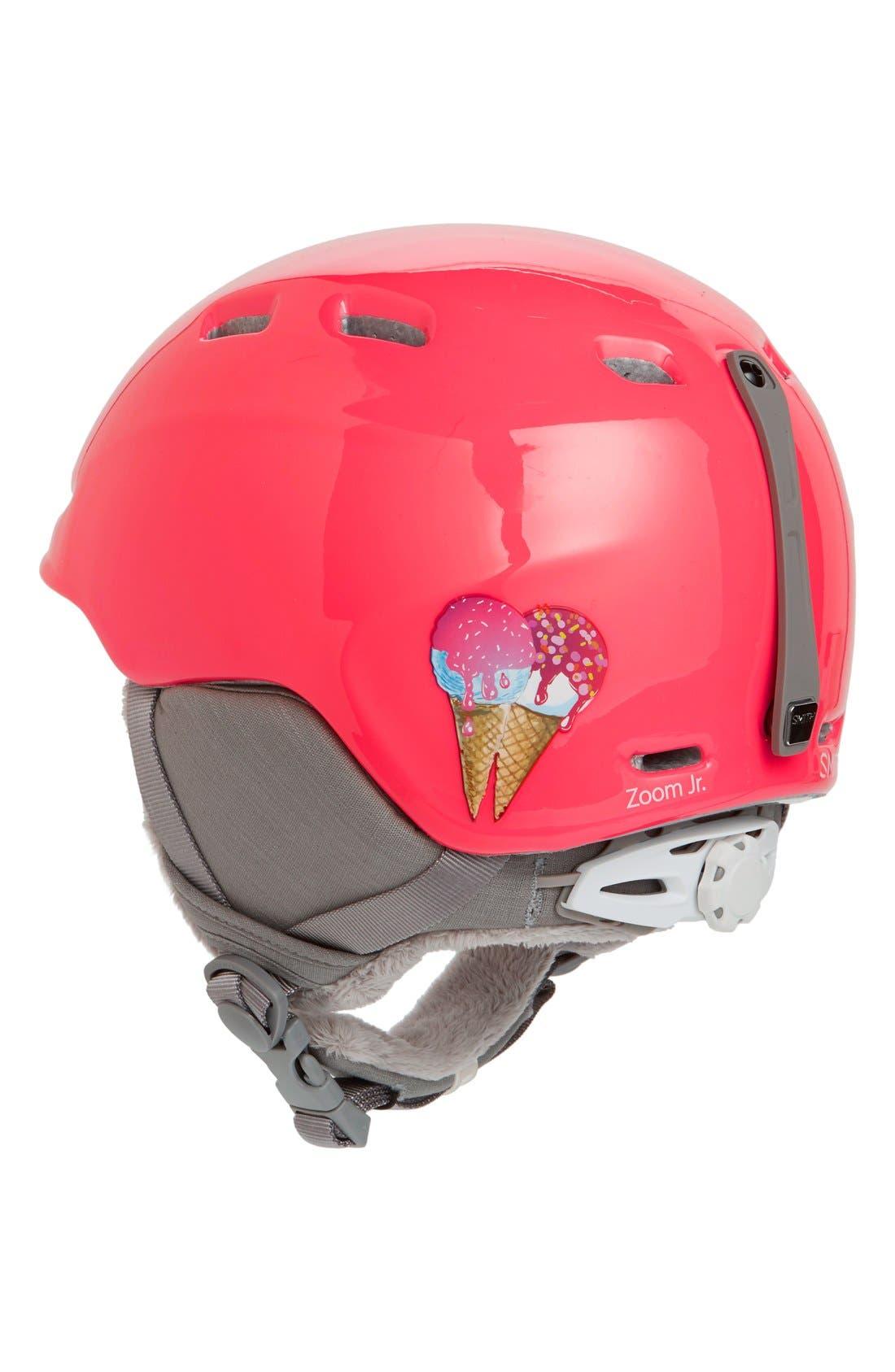 'Zoom Jr.' Snow Helmet,                             Alternate thumbnail 3, color,