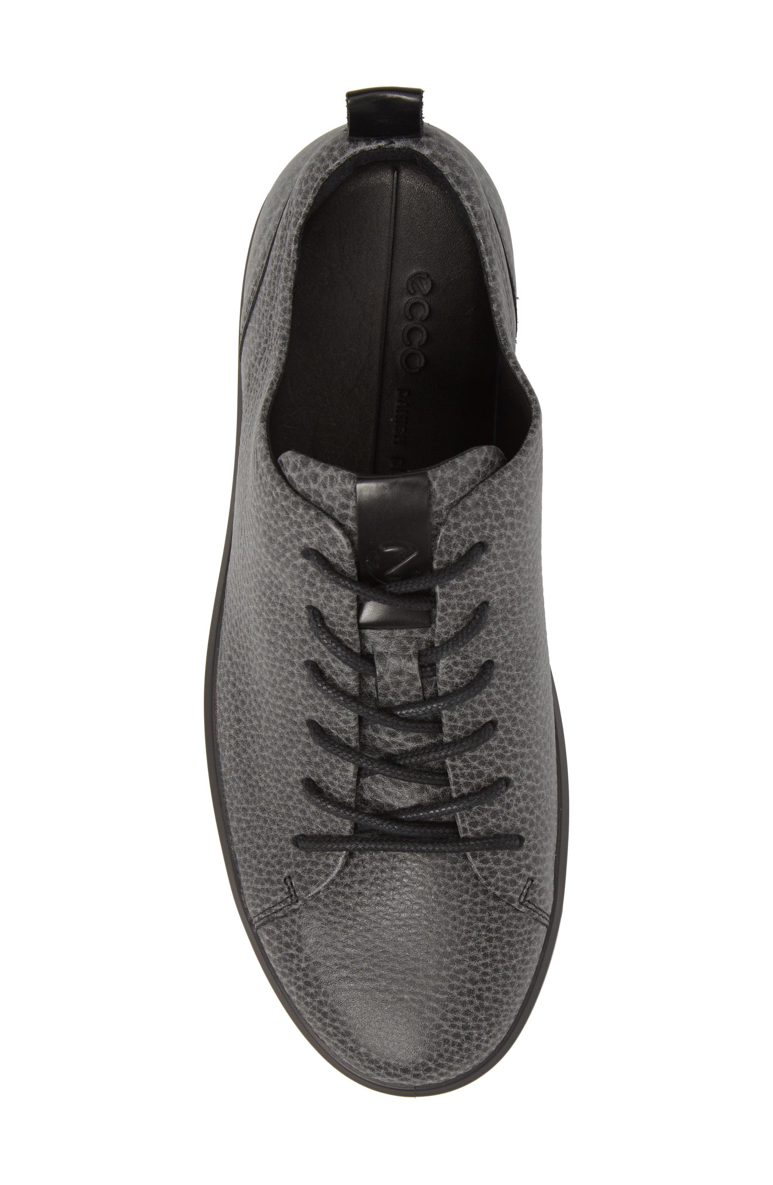 Soft 8 Tie II Low Top Sneaker,                             Alternate thumbnail 5, color,                             BLACK
