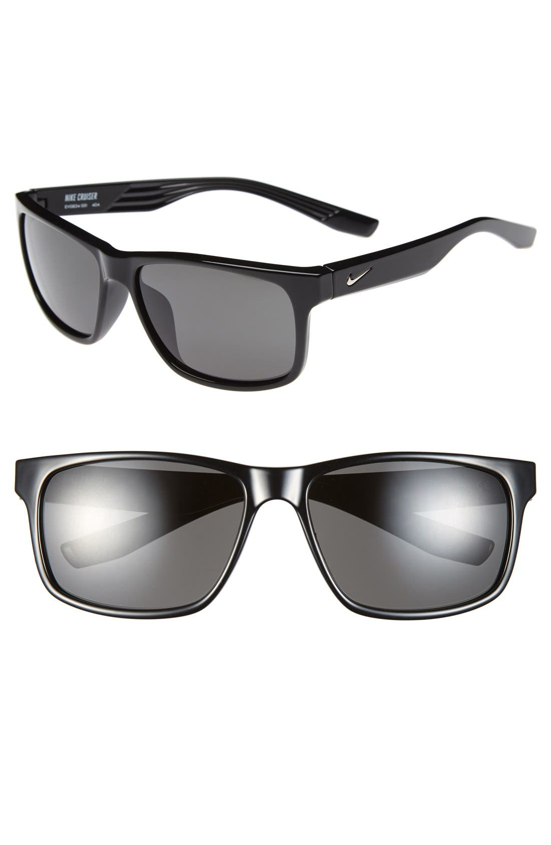 'Cruiser' 59mm Sunglasses,                         Main,                         color, 001