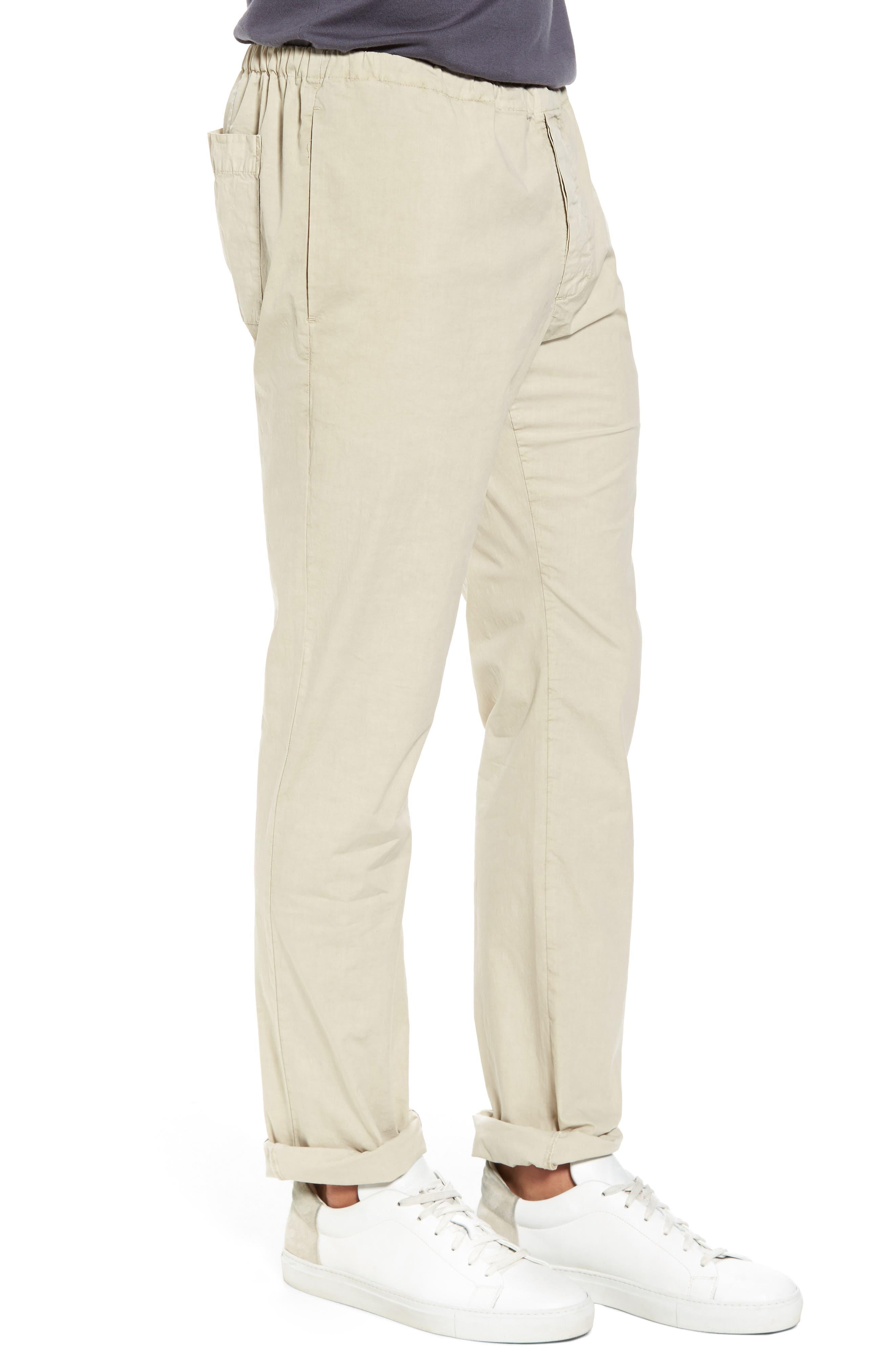 Slim Stretch Poplin Drawcord Pants,                             Alternate thumbnail 12, color,